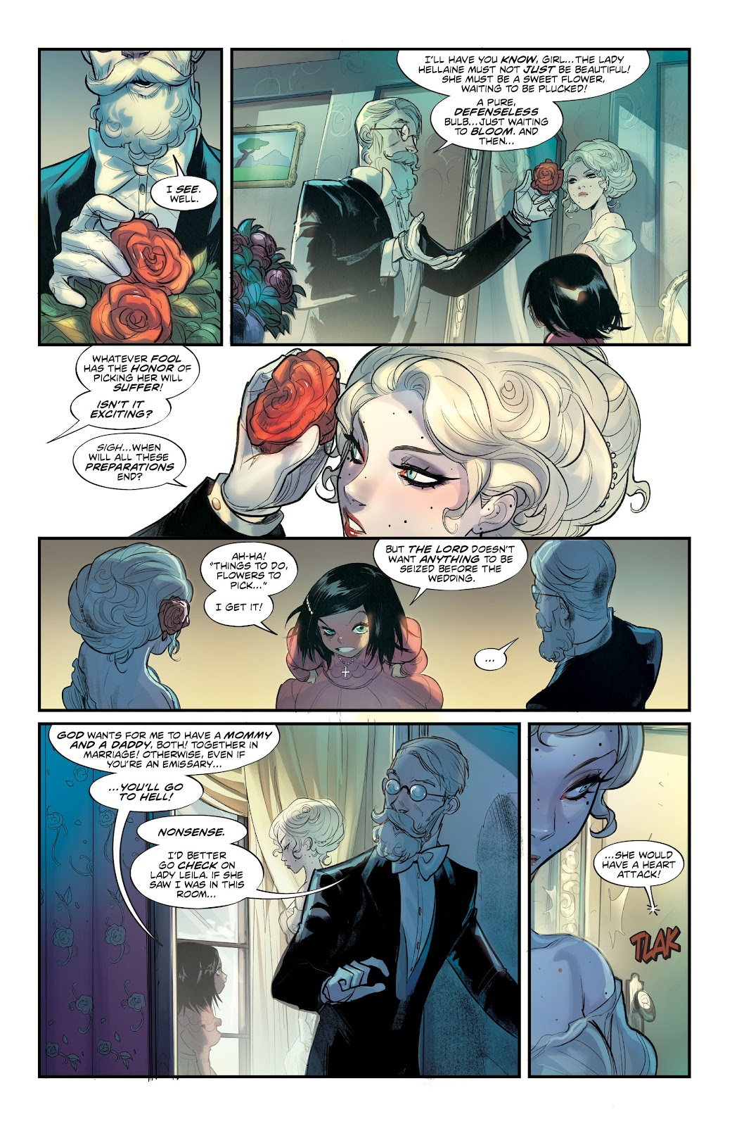 Read online Mirka Andolfo's Mercy comic -  Issue #3 - 6