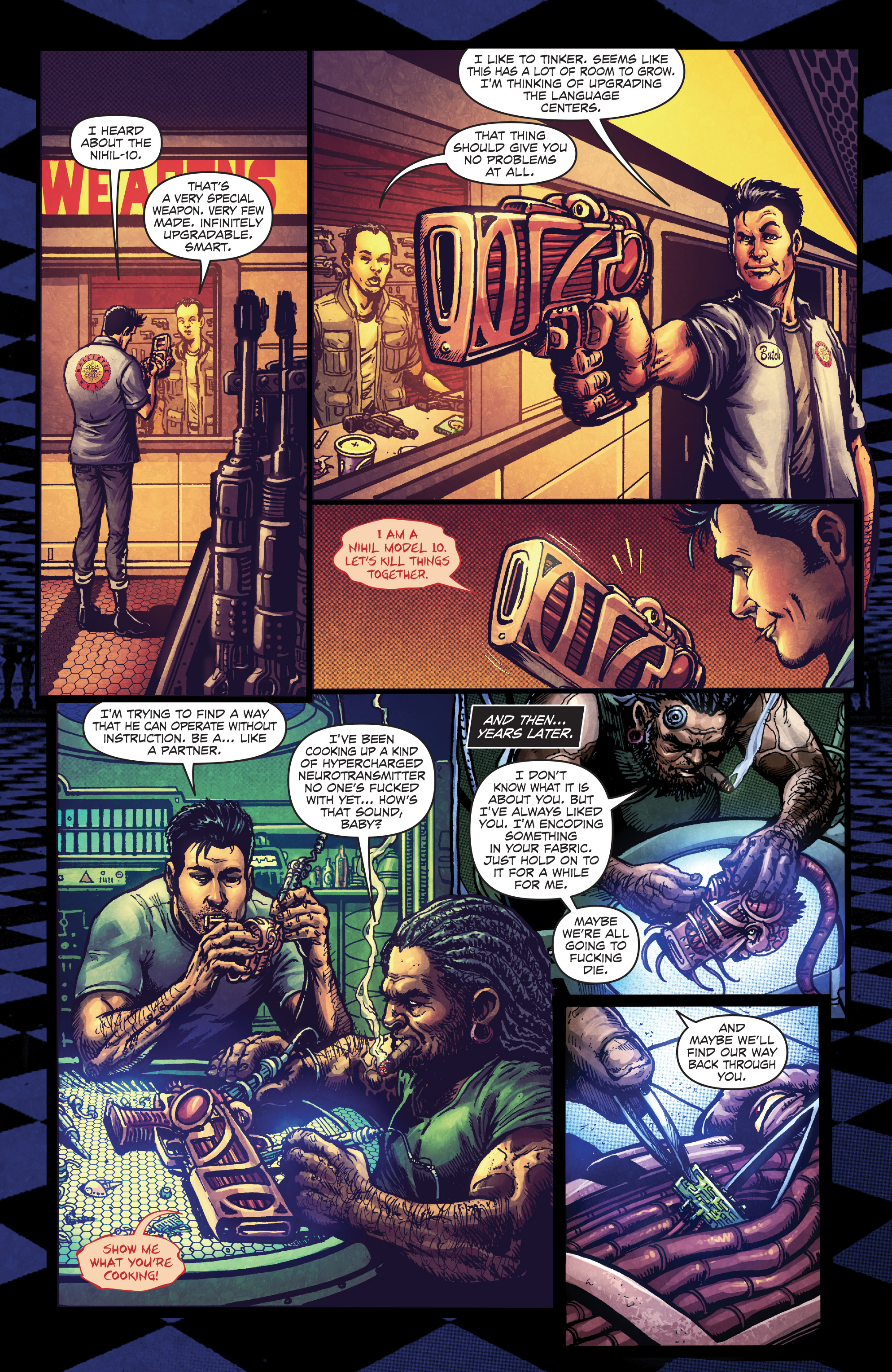 Read online Ballistic (2013) comic -  Issue #4 - 17