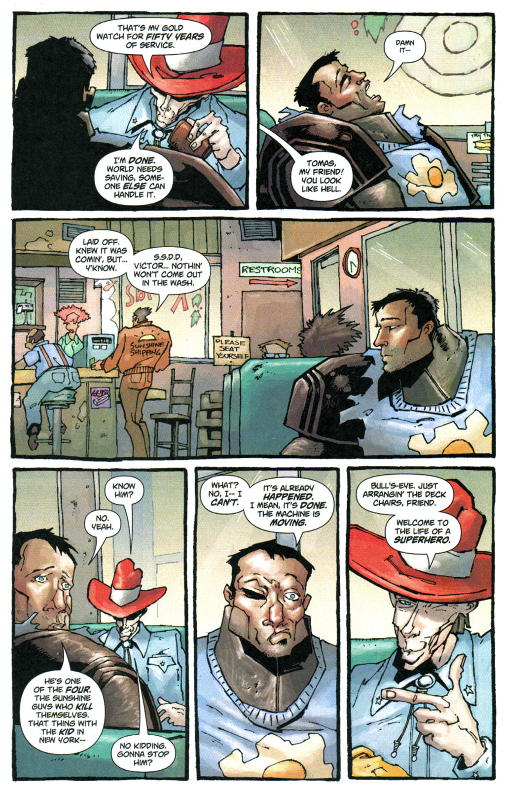 Read online Enginehead comic -  Issue #5 - 18