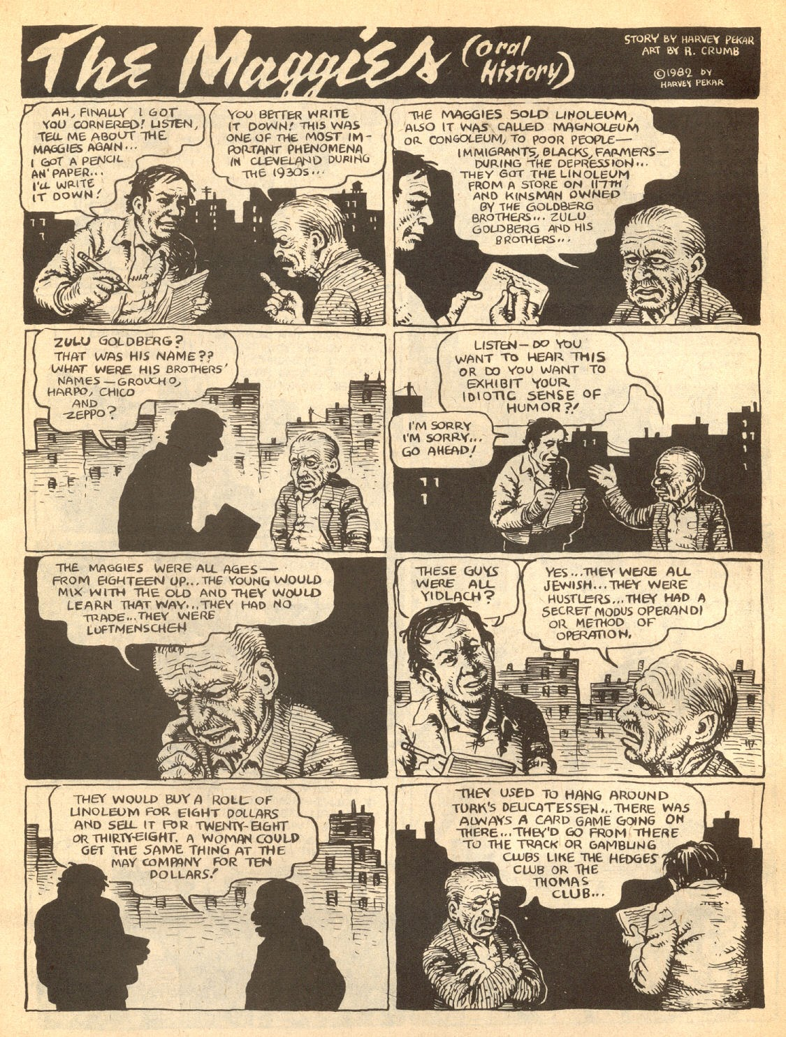 American Splendor (1976) issue 7 - Page 6