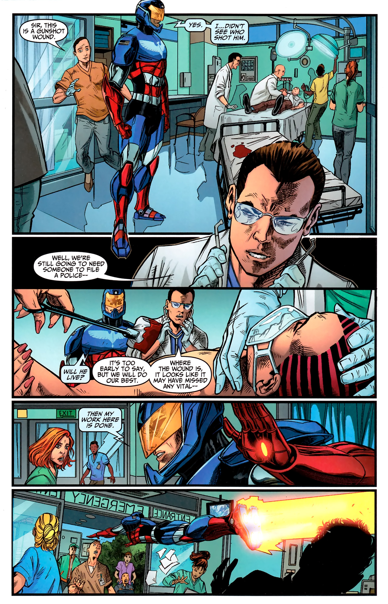 Read online Amazing Spider-Man Presents: American Son comic -  Issue #2 - 7