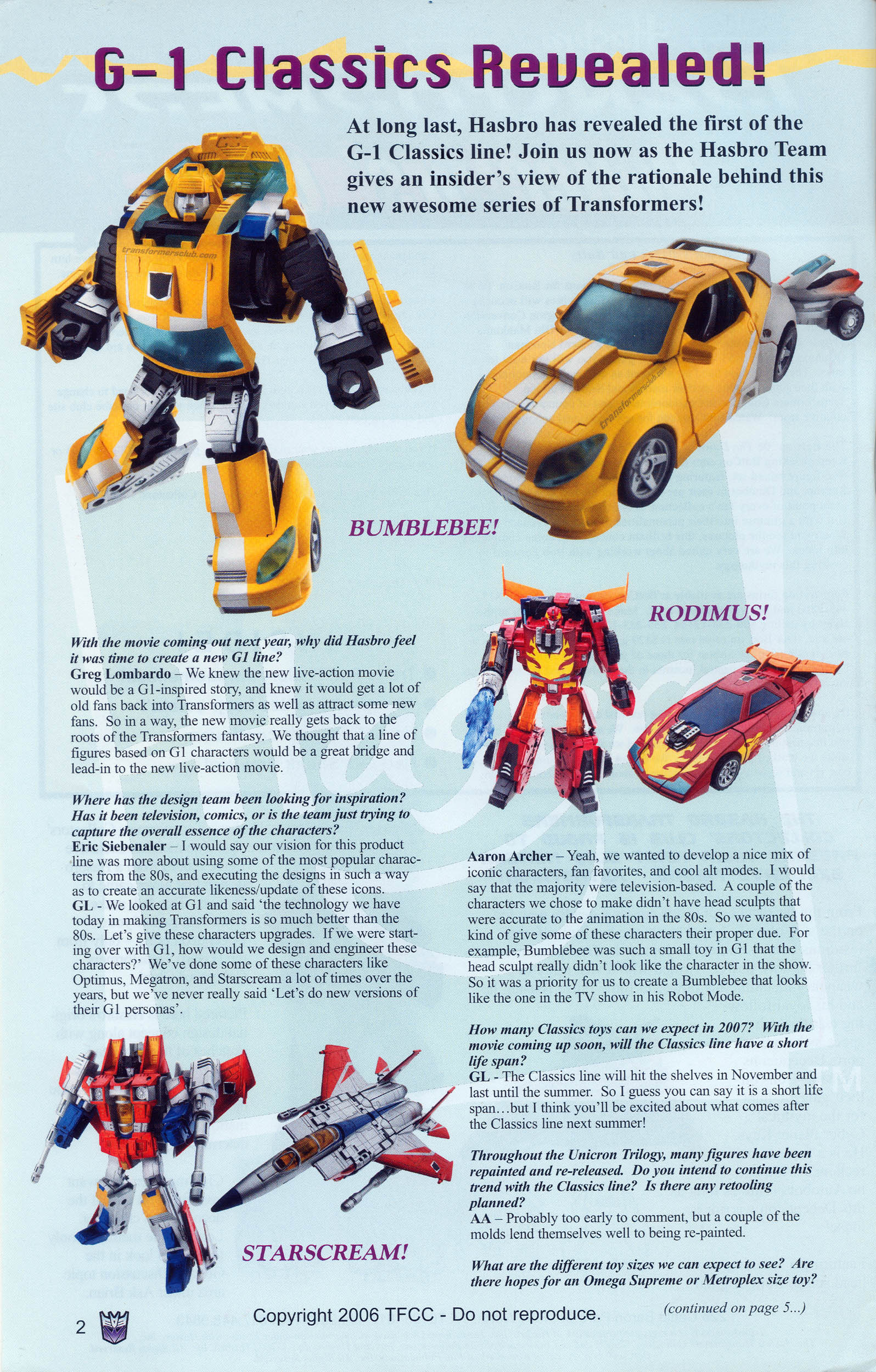 Read online Transformers: Collectors' Club comic -  Issue #9 - 2