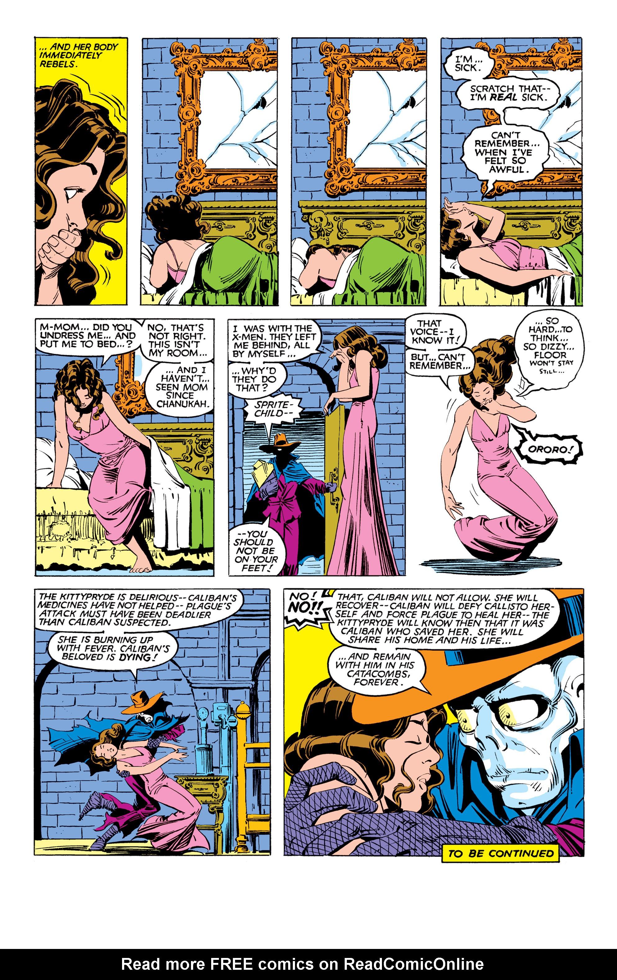Read online Uncanny X-Men (1963) comic -  Issue #169 - 23