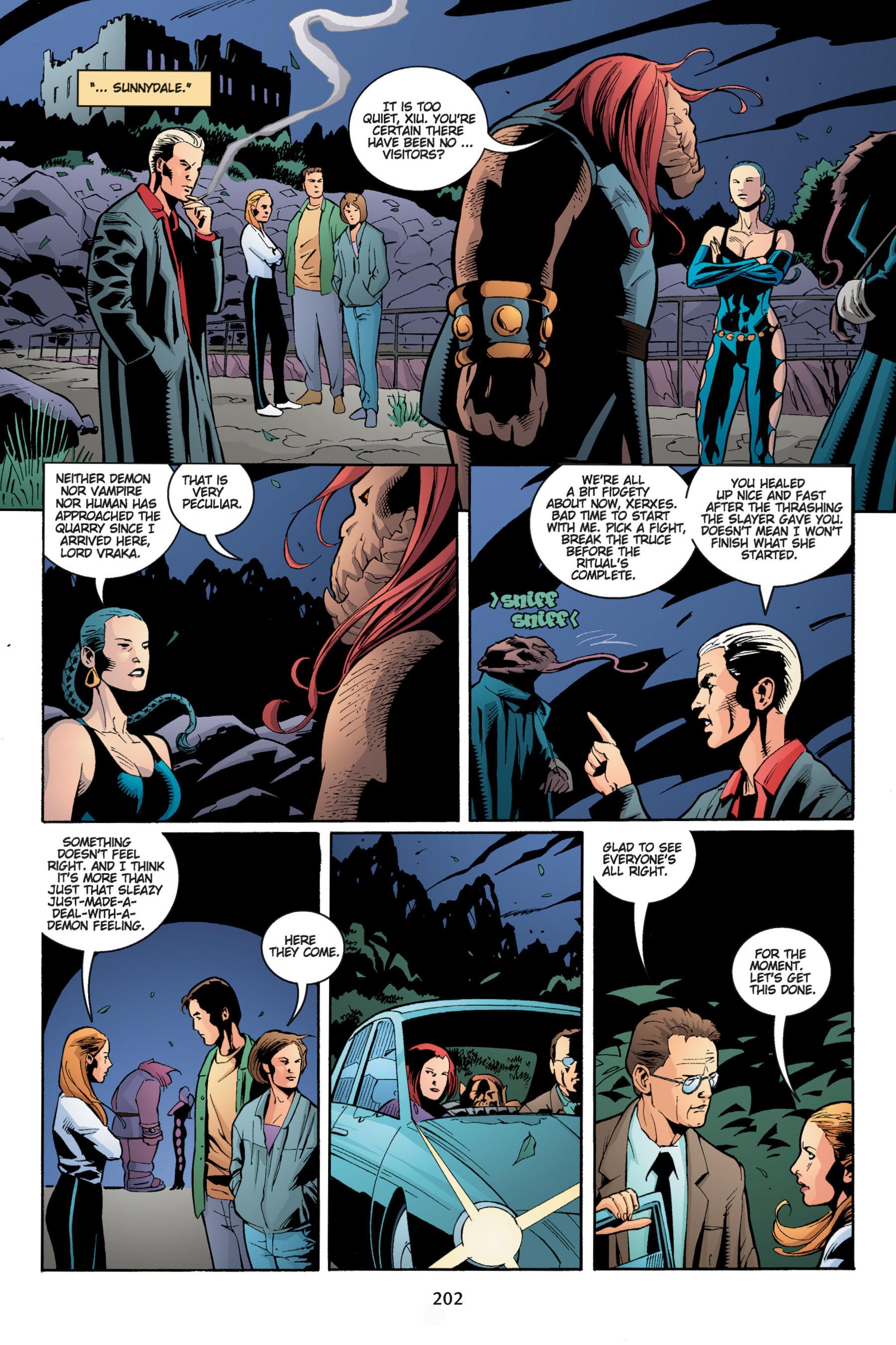 Read online Buffy the Vampire Slayer: Omnibus comic -  Issue # TPB 5 - 202