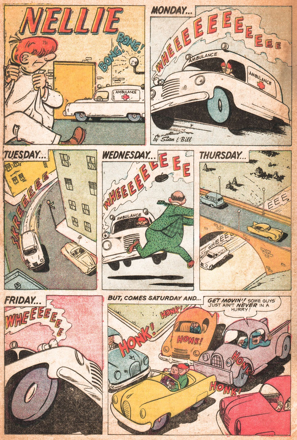 Read online Nellie The Nurse (1957) comic -  Issue # Full - 25