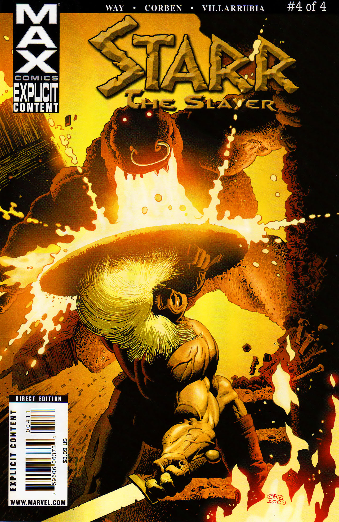 Read online Starr the Slayer comic -  Issue #4 - 1