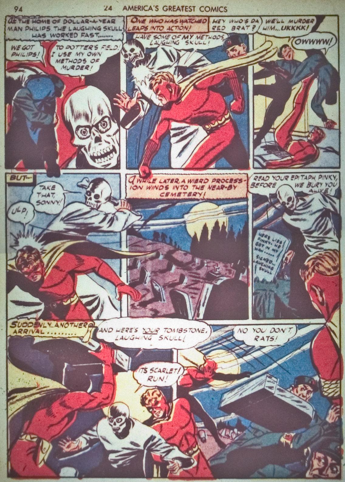Read online America's Greatest Comics comic -  Issue #1 - 97