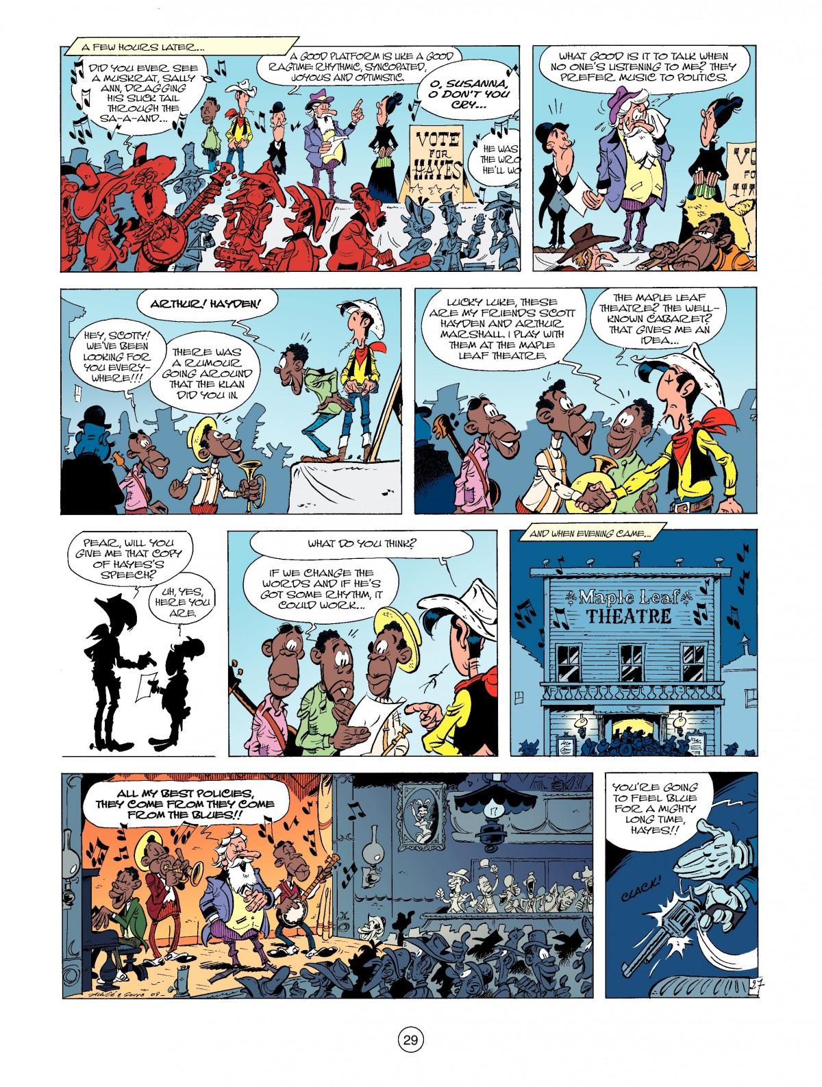 Read online A Lucky Luke Adventure comic -  Issue #39 - 29