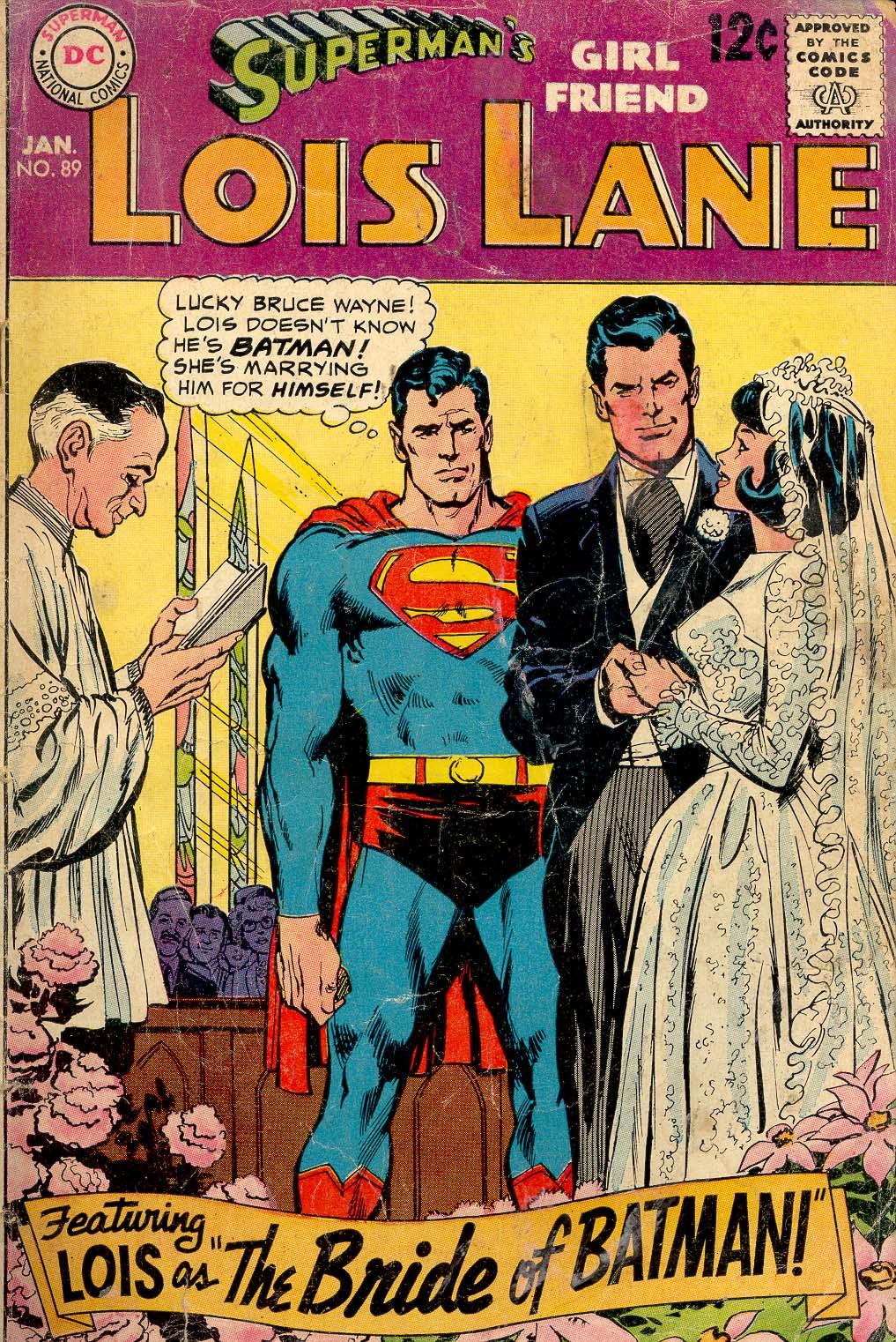 Supermans Girl Friend, Lois Lane 89 Page 1