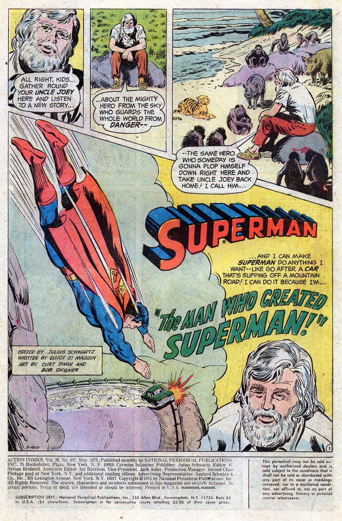 Action Comics (1938) 447 Page 1