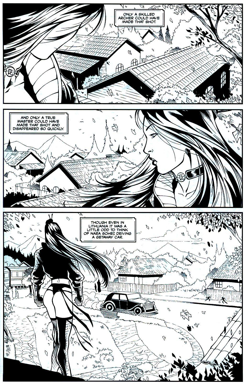 Read online Shi: Sempo comic -  Issue #1 - 12