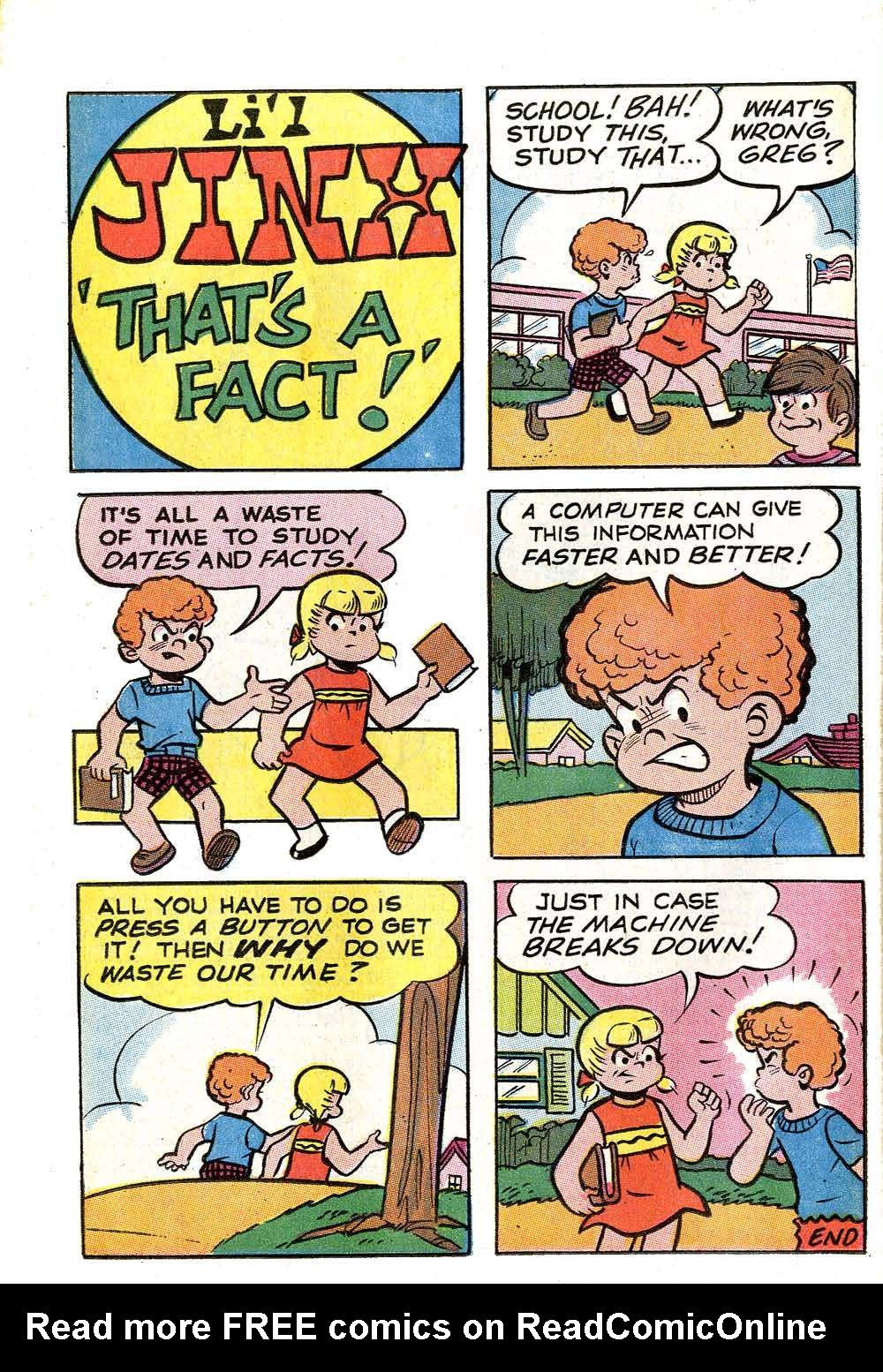 Read online Archie (1960) comic -  Issue #204 - 26