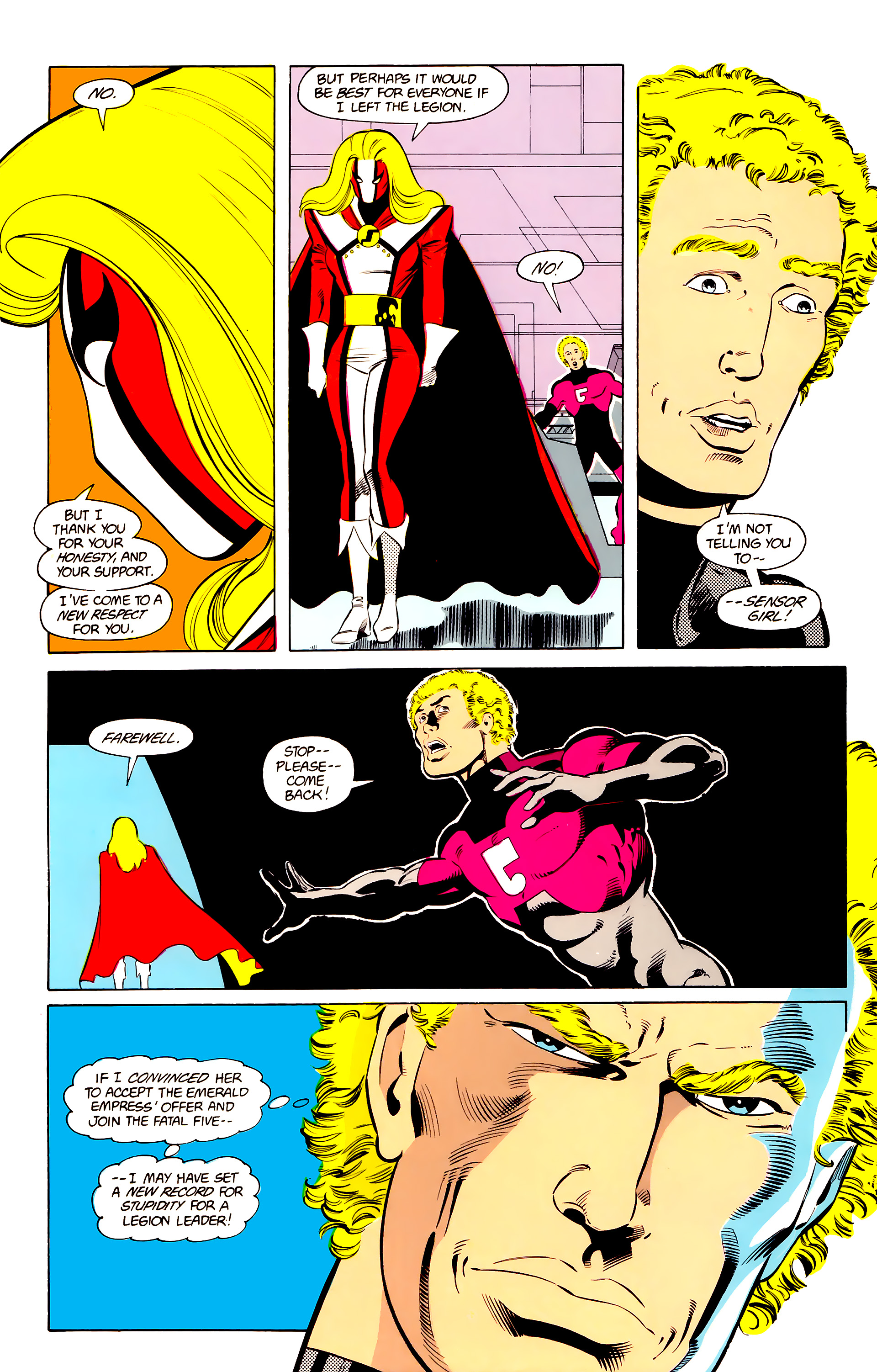 Legion of Super-Heroes (1984) 24 Page 22