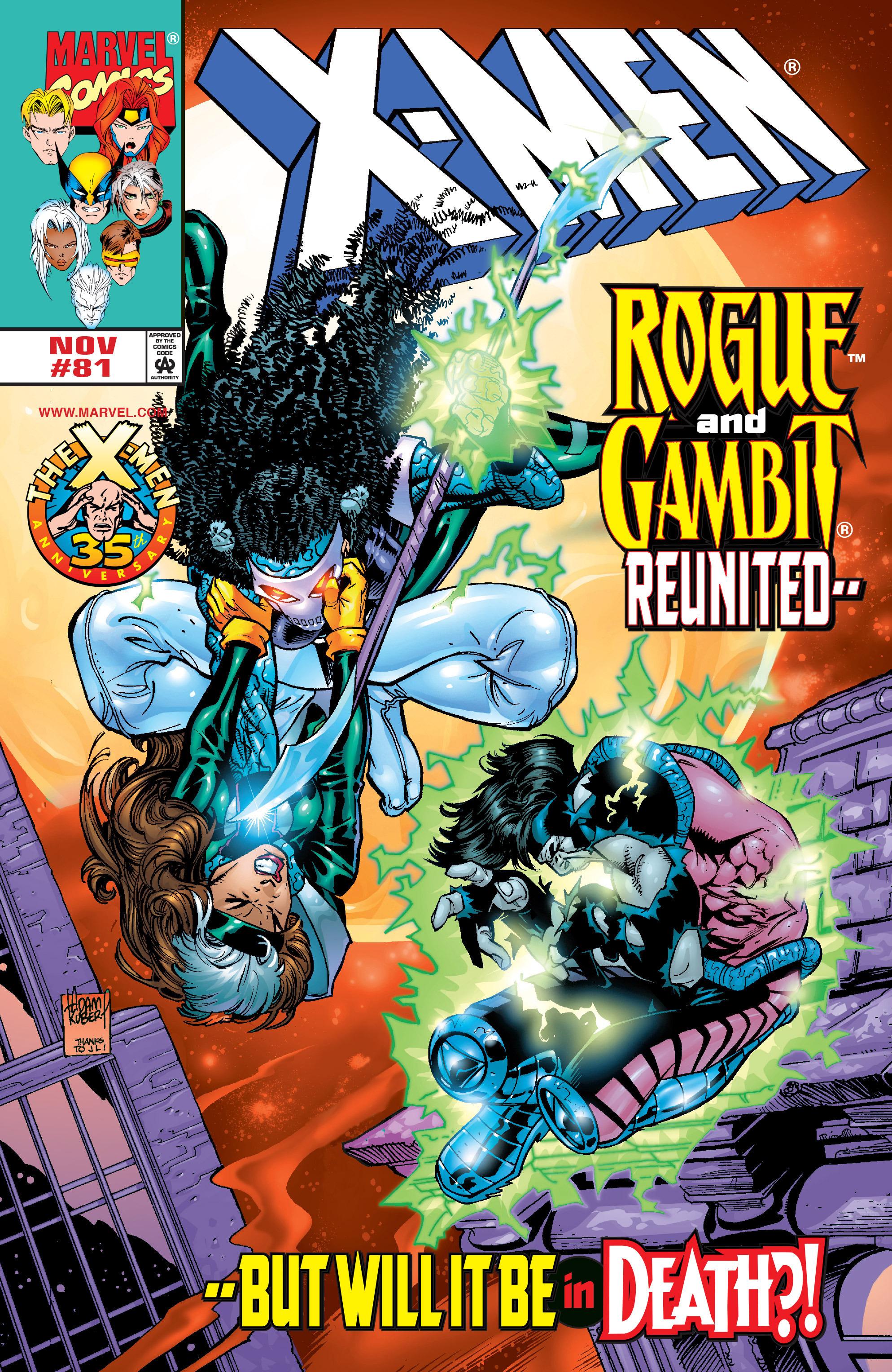 X-Men (1991) 81 Page 0