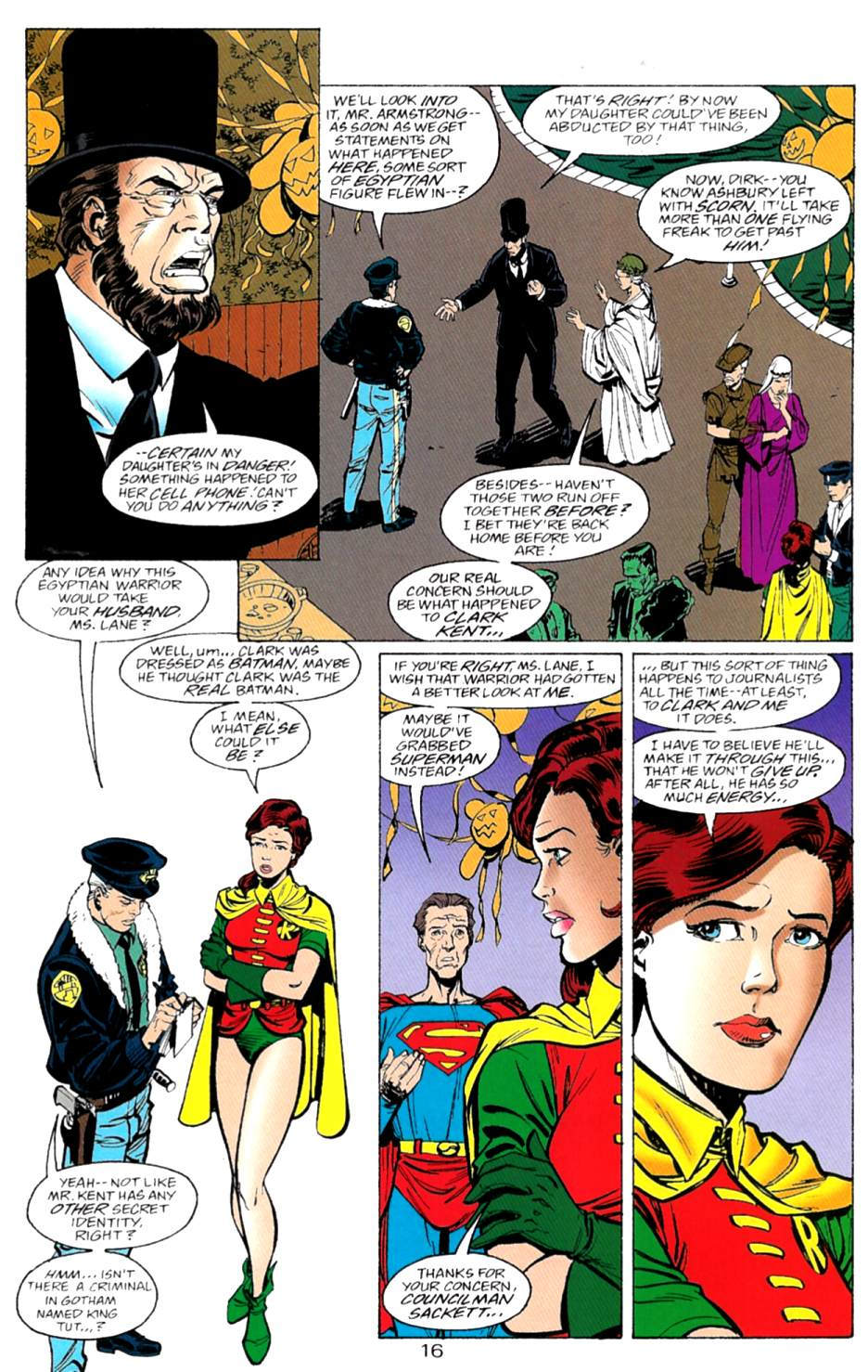 Read online Adventures of Superman (1987) comic -  Issue #553 - 17