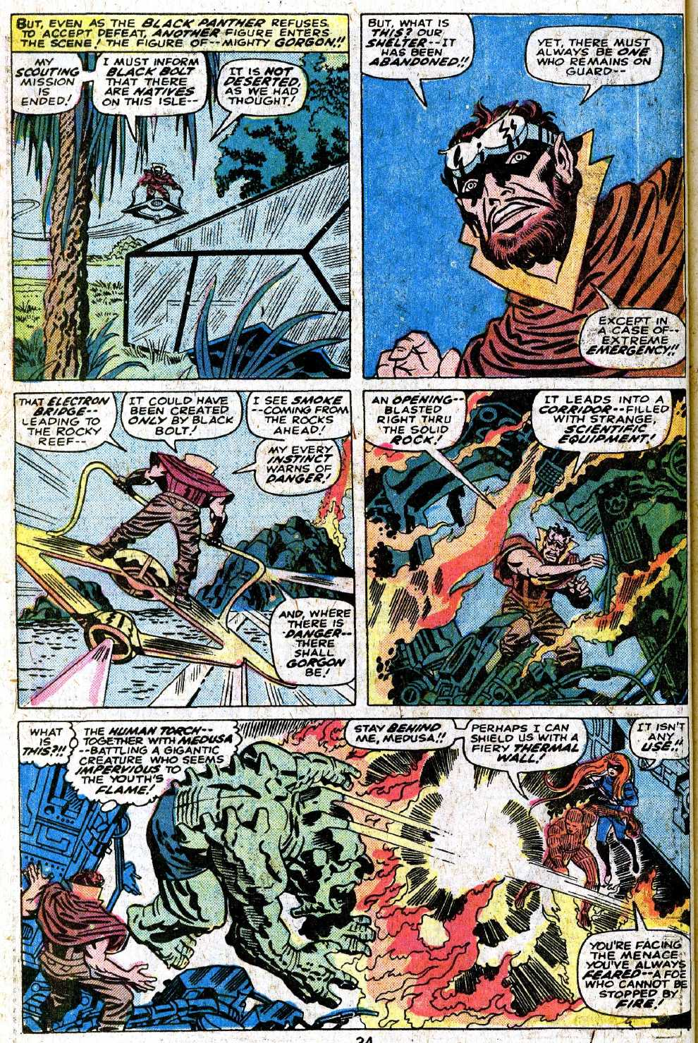 Giant-Size Fantastic Four issue 5 - Page 36