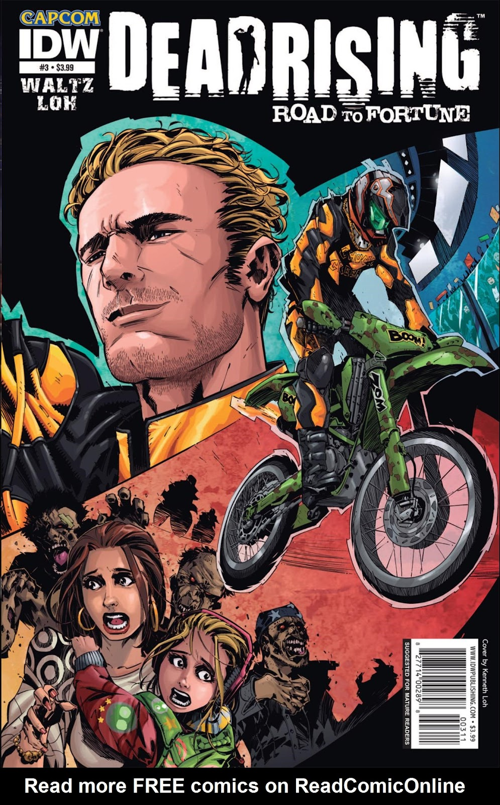 Read online Dead Rising: Road to Fortune comic -  Issue #3 - 1