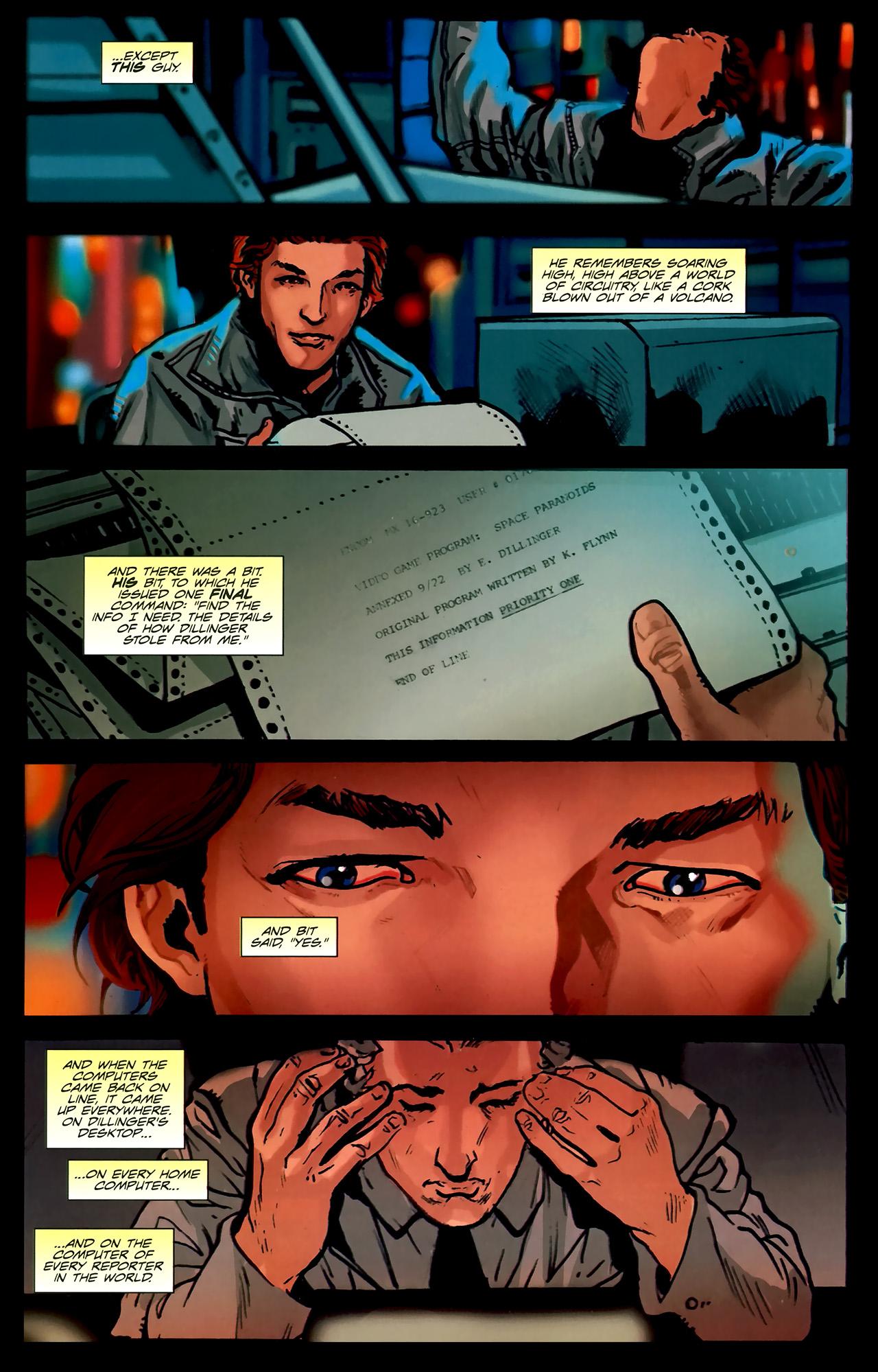 Read online TRON: Original Movie Adaptation comic -  Issue #2 - 34