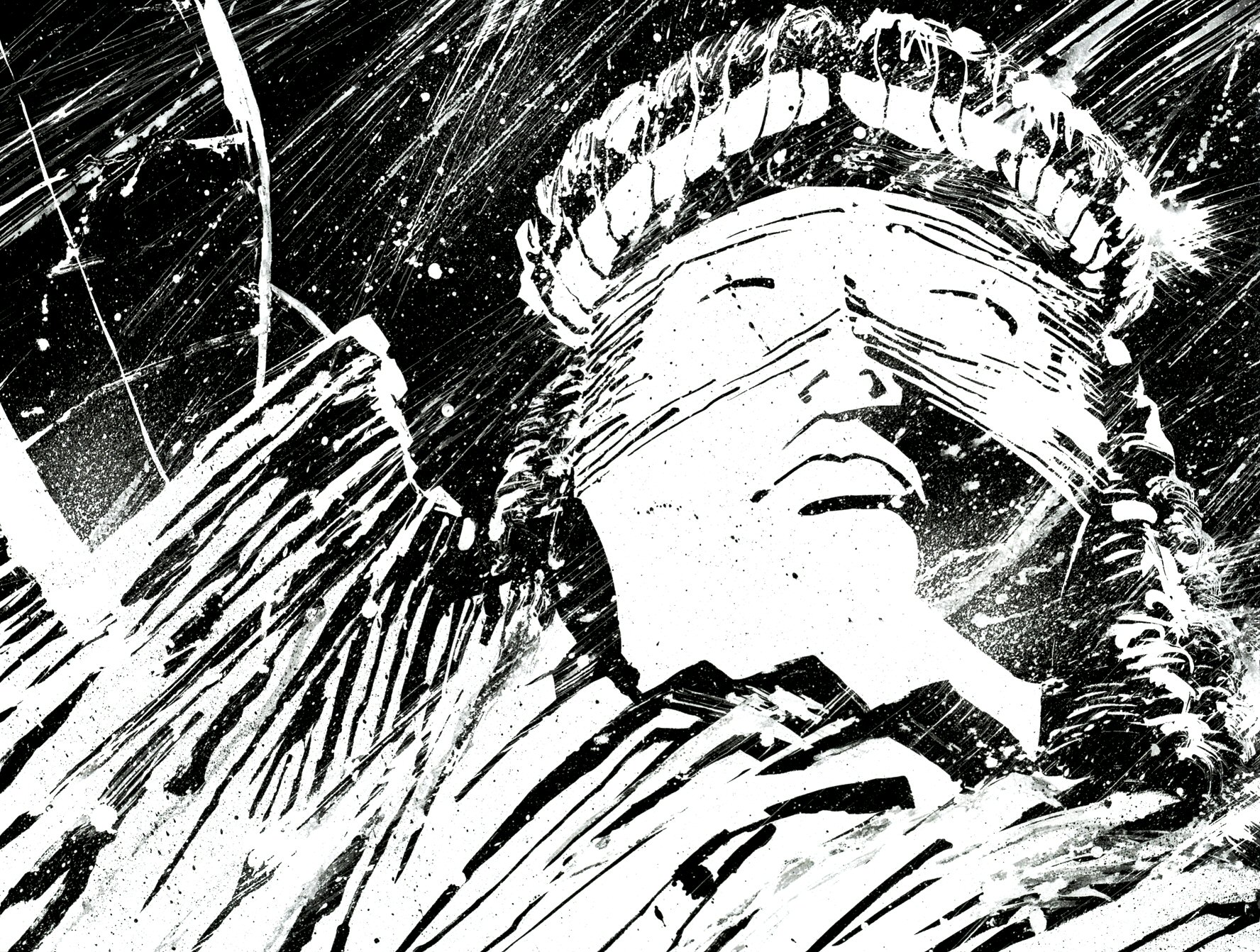 Read online Frank Miller's Holy Terror comic -  Issue # TPB - 11