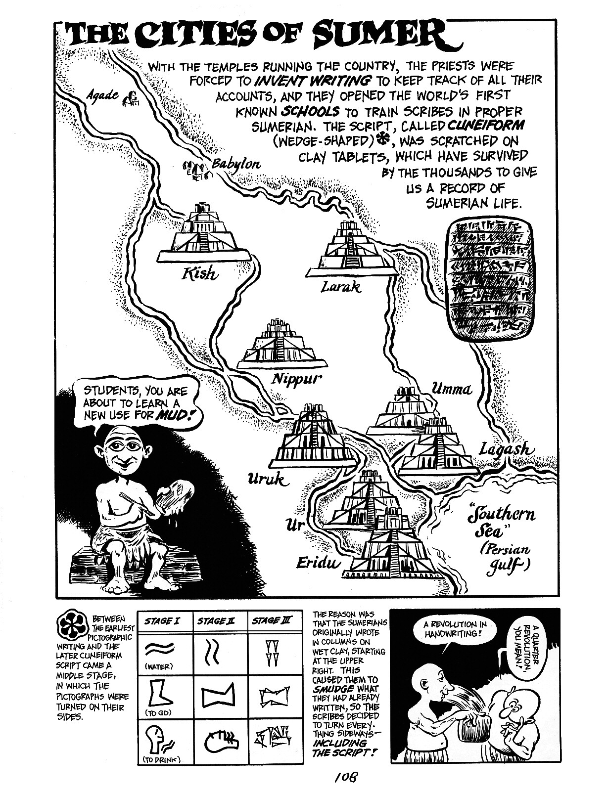 Read online The Cartoon History of the Universe comic -  Issue #3 - 8
