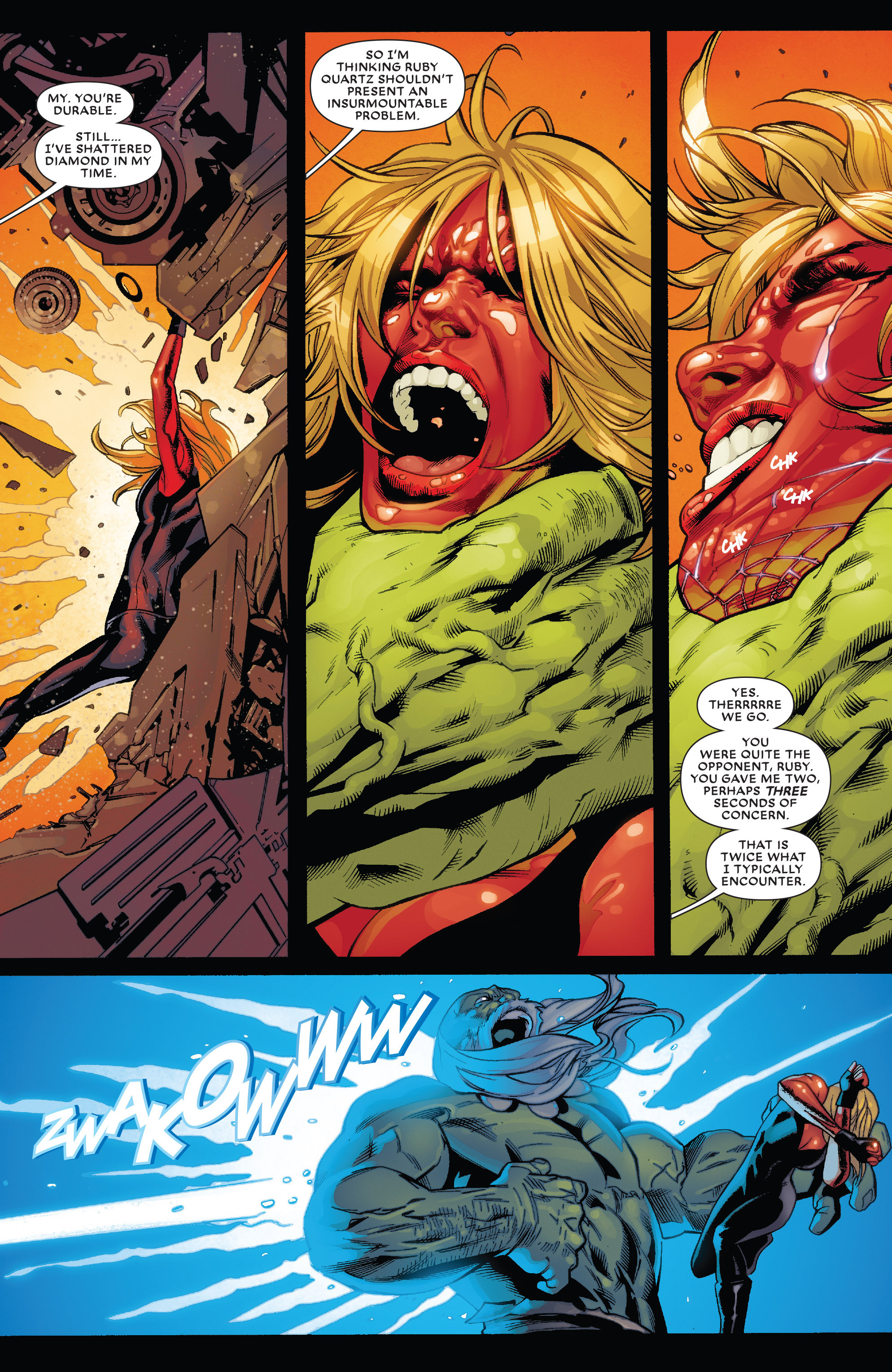 Read online Future Imperfect comic -  Issue #1 - 18
