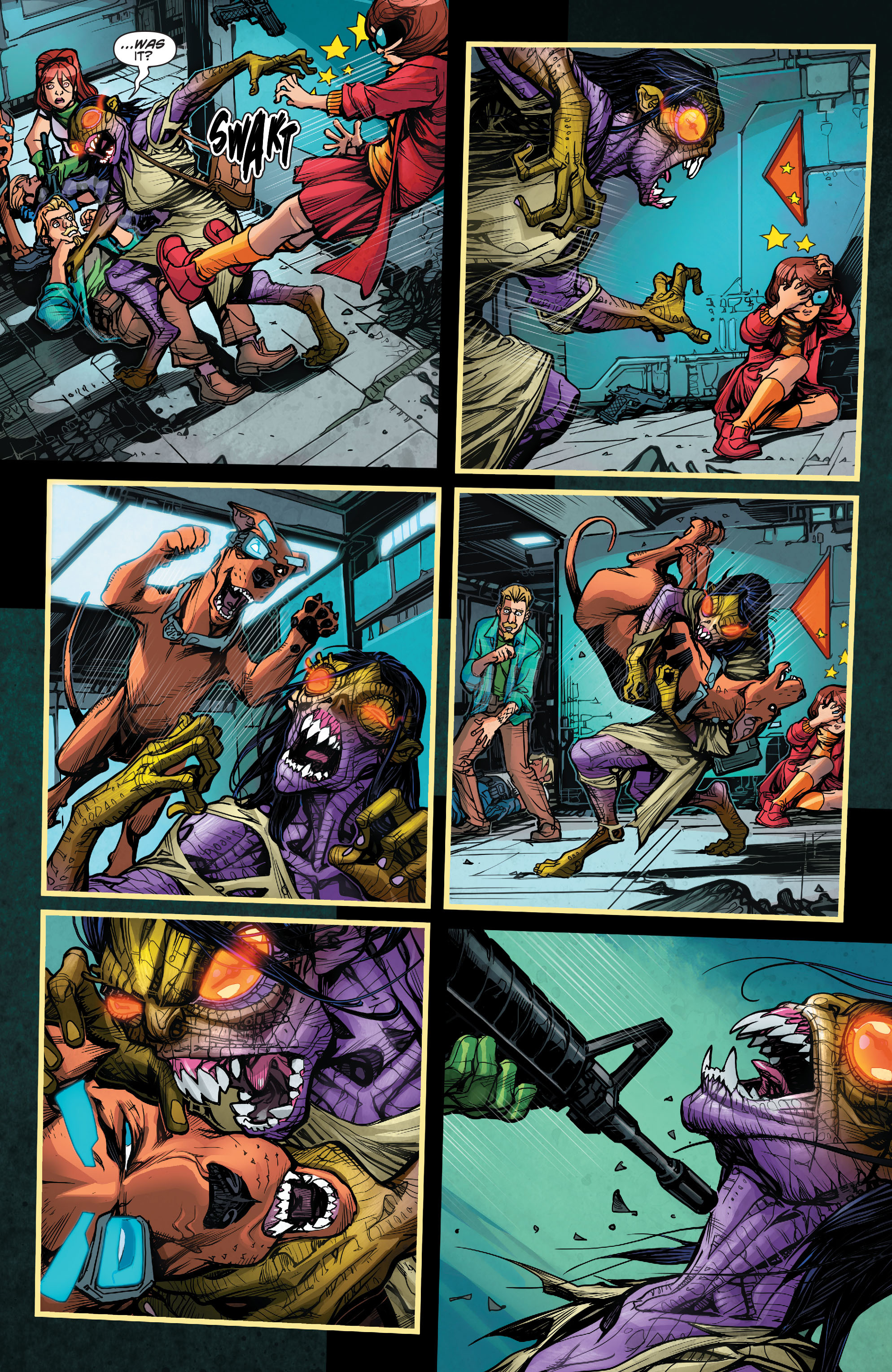 Read online Scooby Apocalypse comic -  Issue #2 - 18