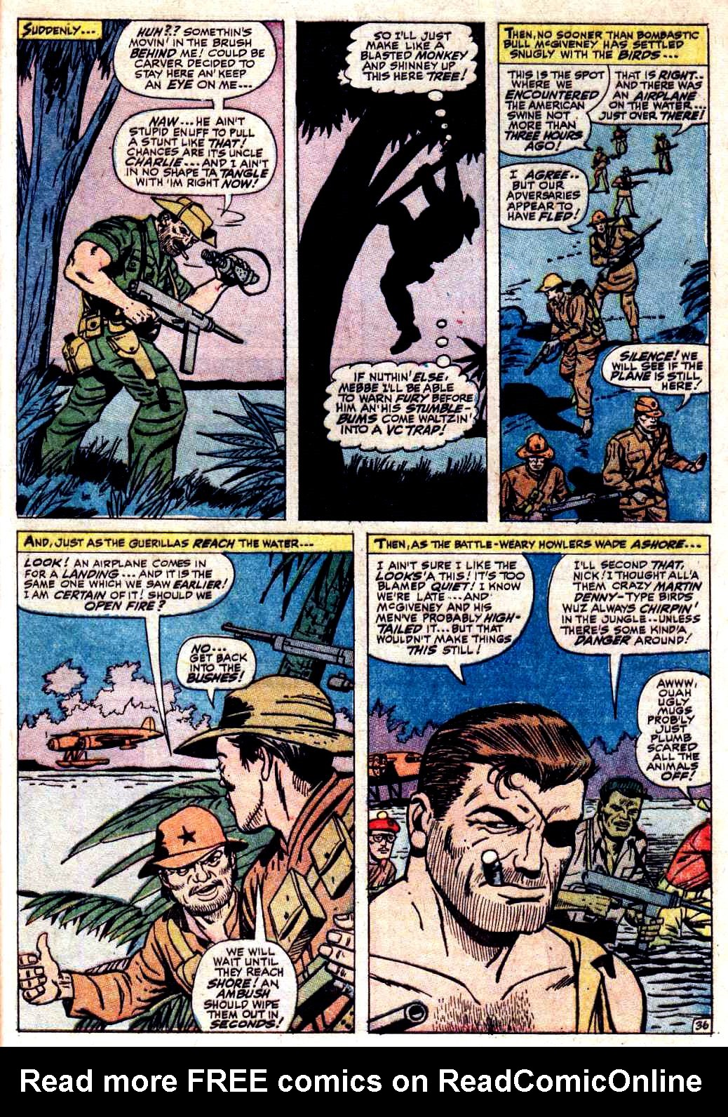 Read online Sgt. Fury comic -  Issue # _Special 3 - 41