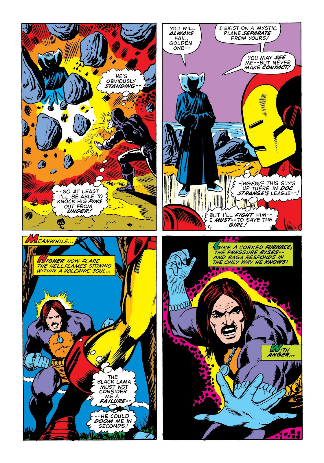 Read online Marvel Masterworks: The Invincible Iron Man comic -  Issue # TPB 8 (Part 3) - 107