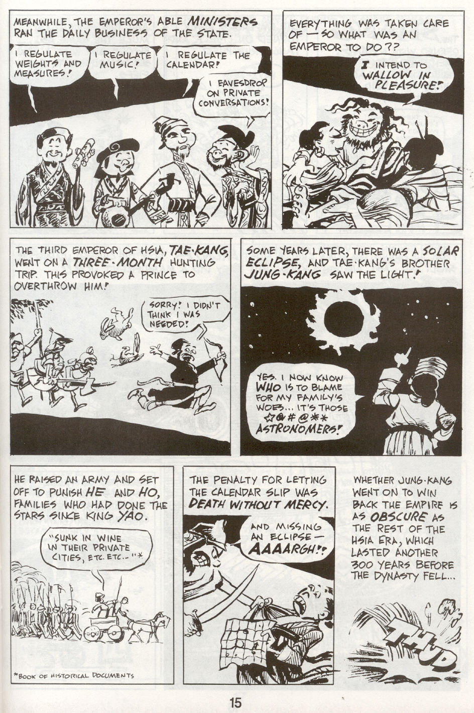 Read online The Cartoon History of the Universe comic -  Issue #9 - 18