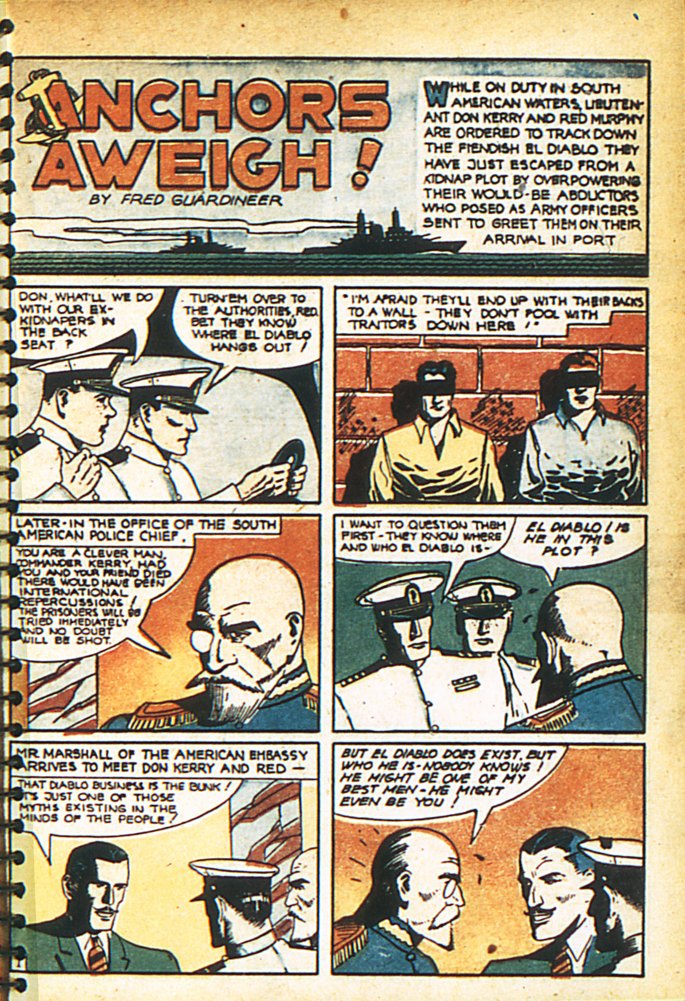 Read online Adventure Comics (1938) comic -  Issue #29 - 4