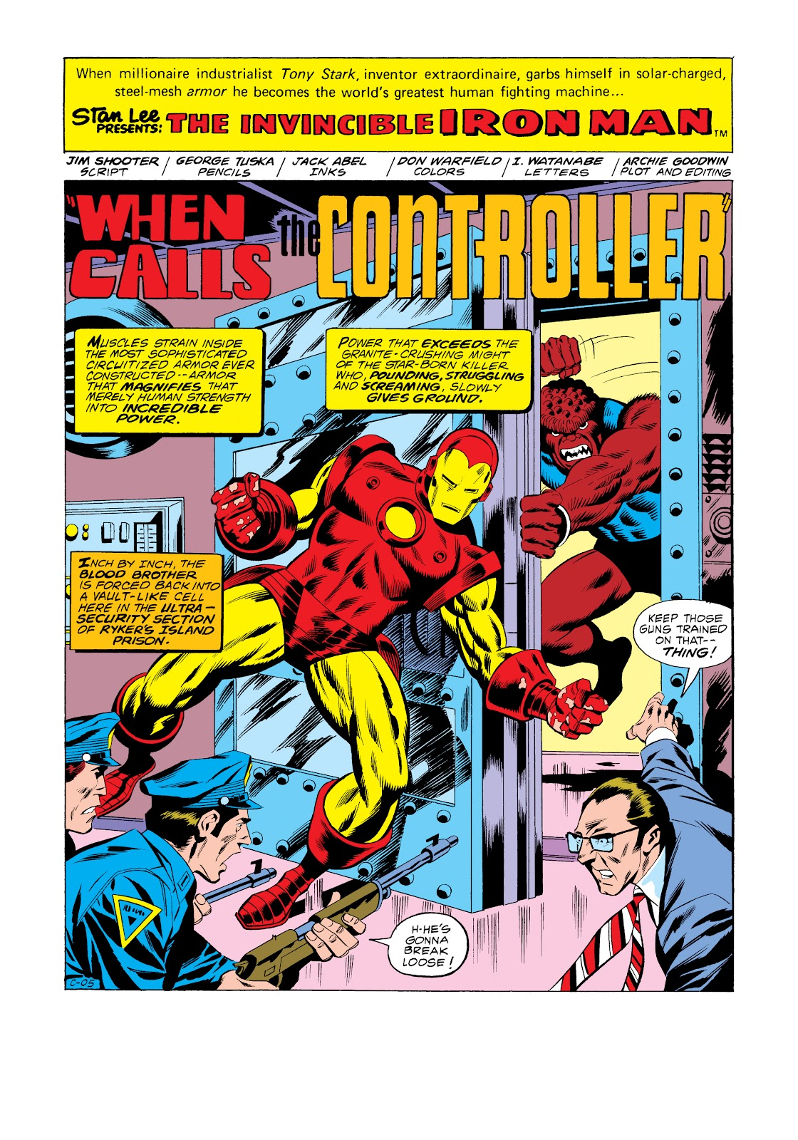 Read online Marvel Masterworks: The Invincible Iron Man comic -  Issue # TPB 11 (Part 2) - 94