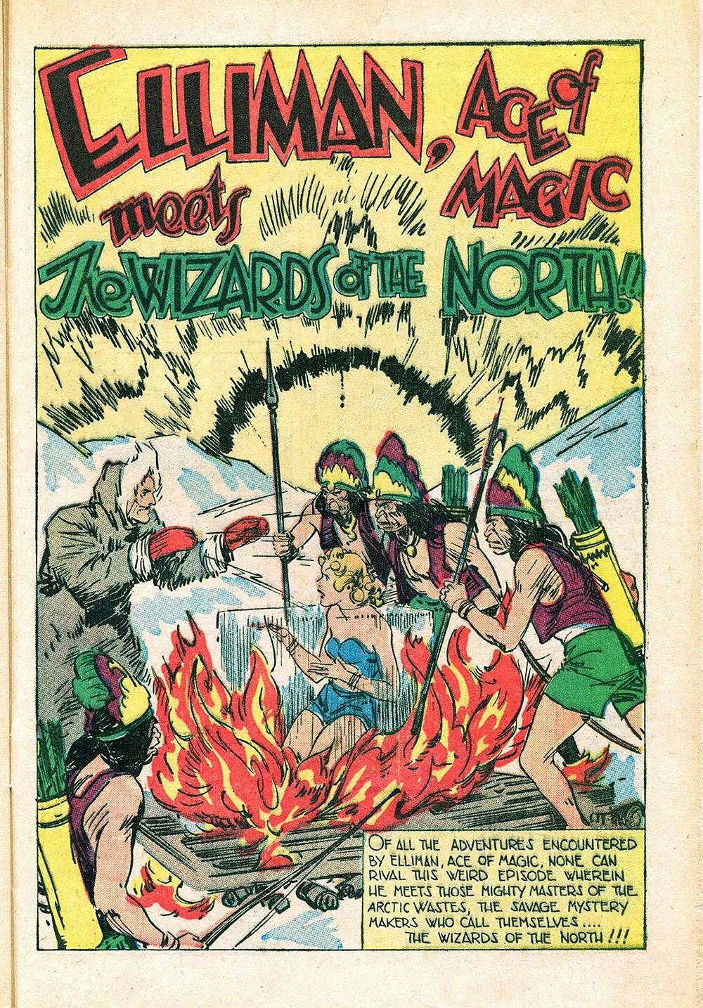 Read online Super-Magician Comics comic -  Issue #55 - 37