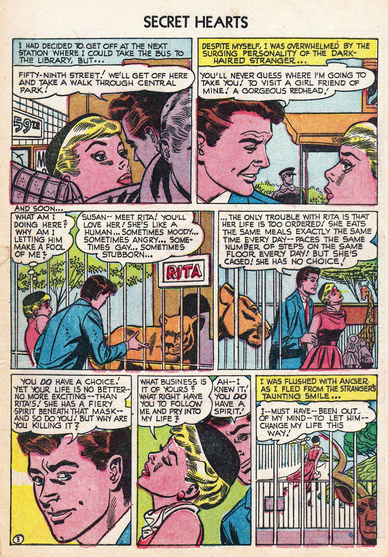 Read online Secret Hearts comic -  Issue #24 - 5