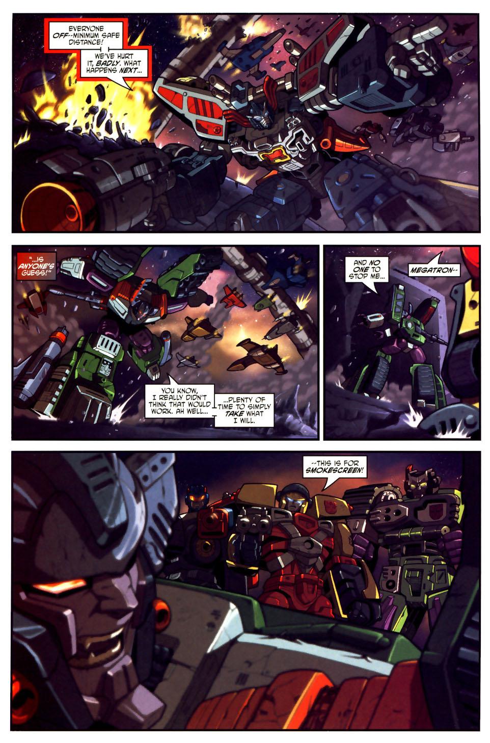 Read online Transformers Armada comic -  Issue #18 - 21