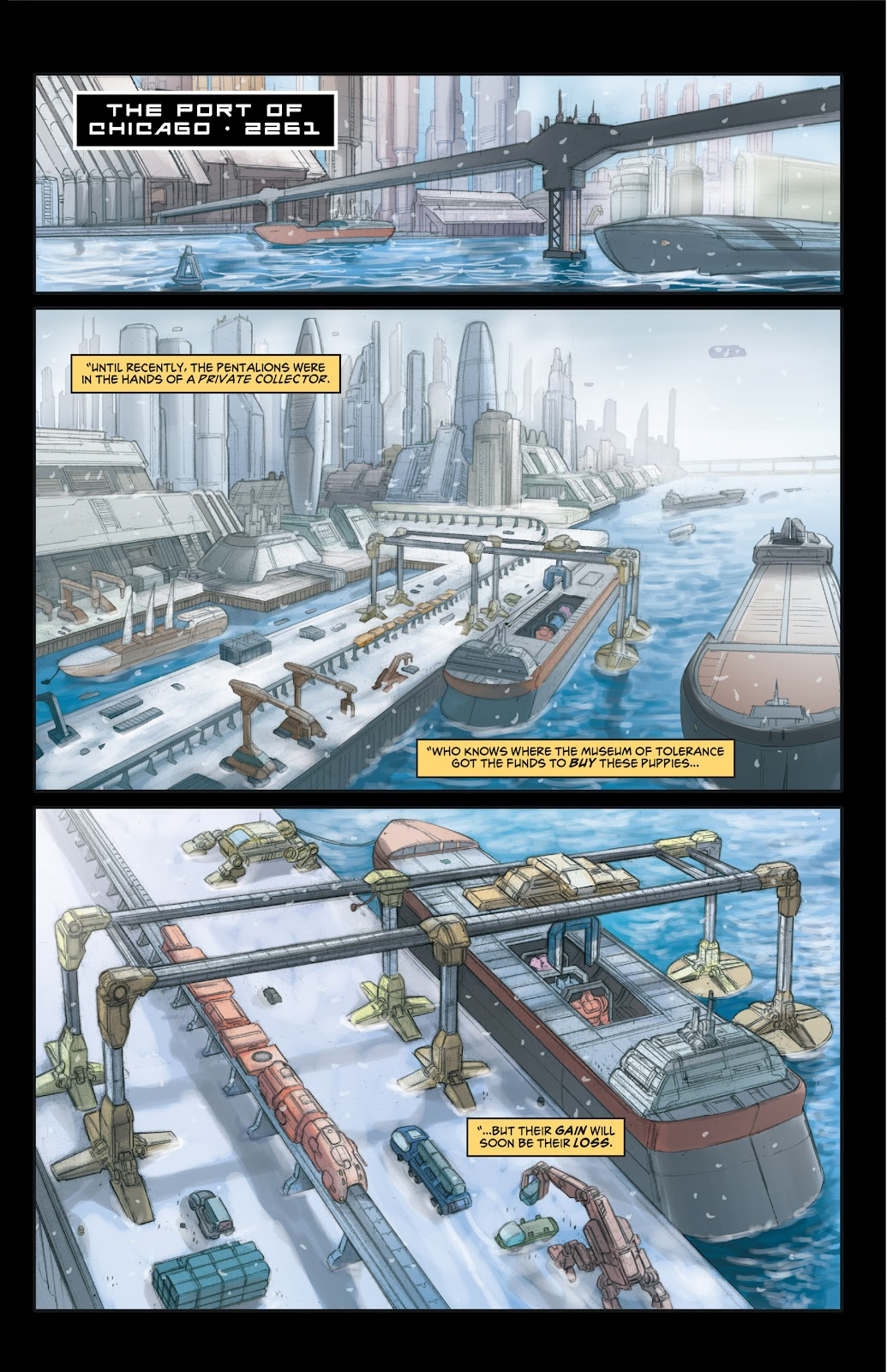 Read online Elephantmen 2261 Season Two: The Pentalion Job comic -  Issue # TPB - 24