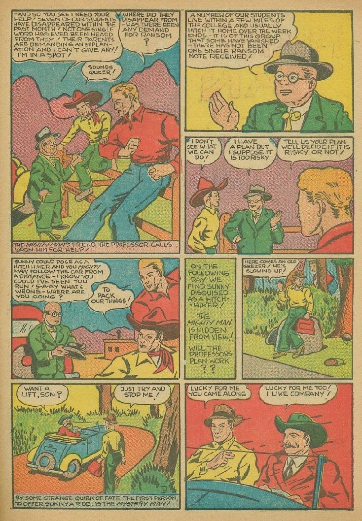 Read online Amazing Man Comics comic -  Issue #9 - 54