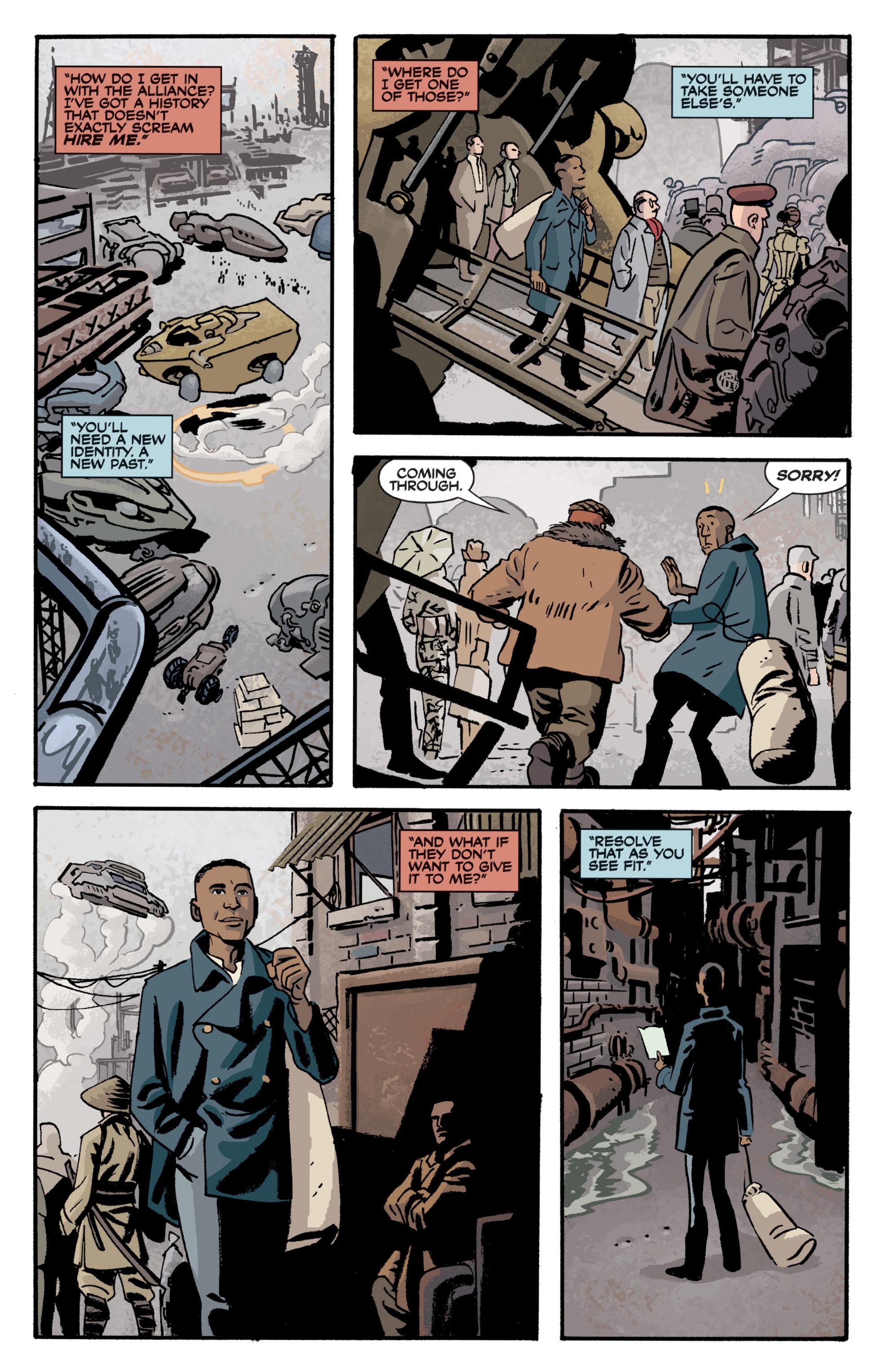 Read online Serenity Volume Three: The Shepherd's Tale comic -  Issue # TPB - 44