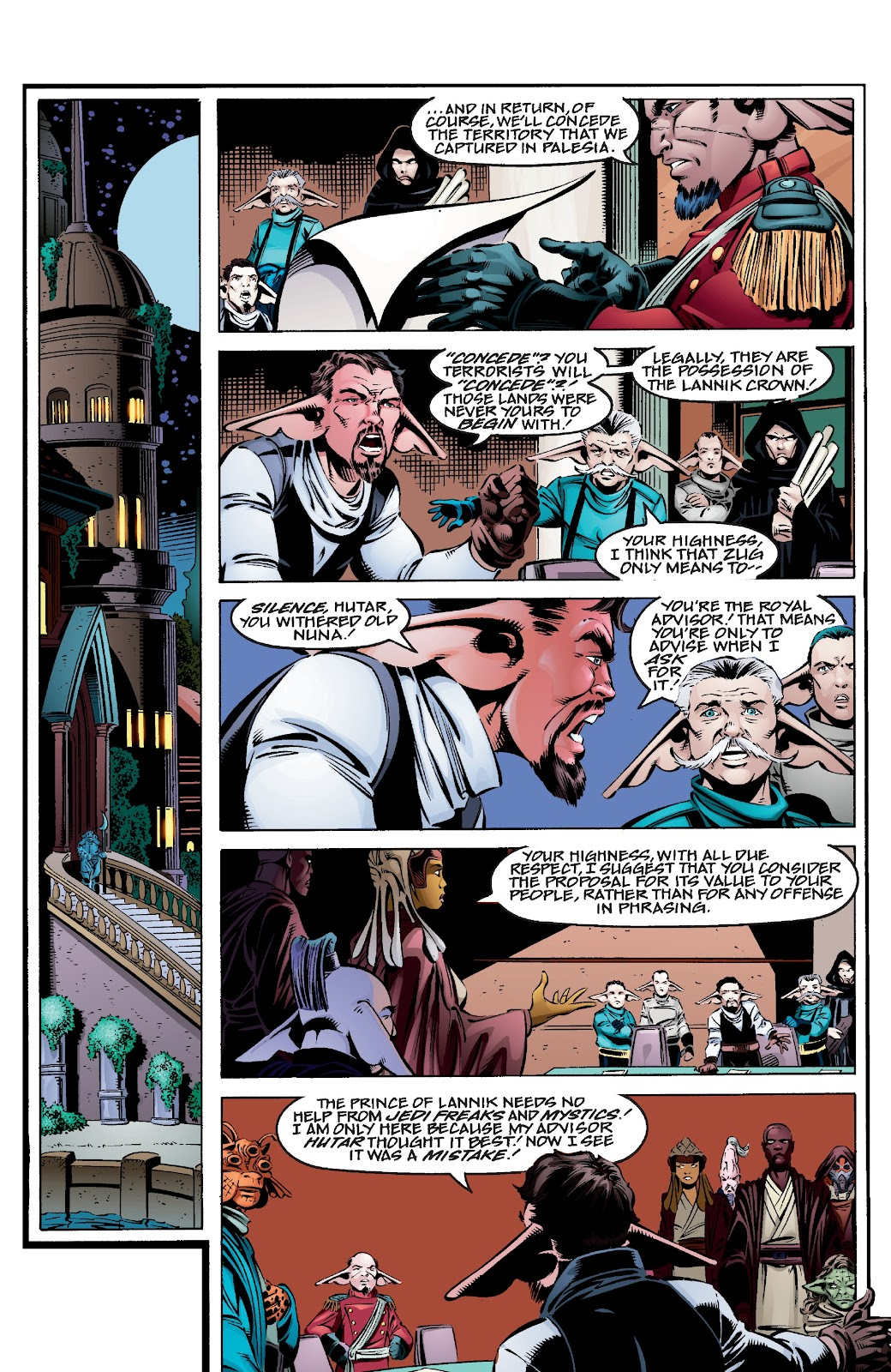 Read online Star Wars Legends Epic Collection: The Menace Revealed comic -  Issue # TPB (Part 4) - 8
