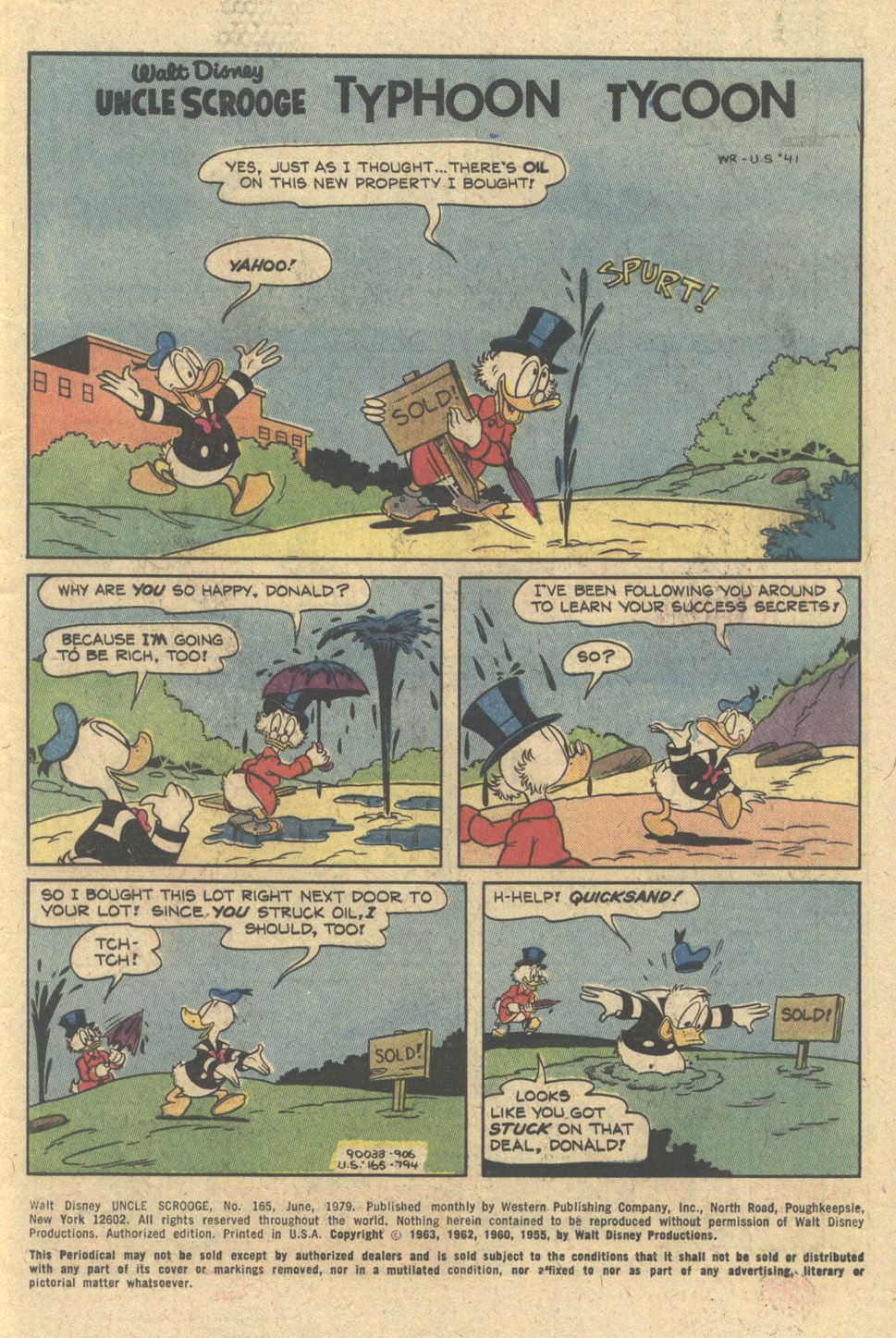 Read online Uncle Scrooge (1953) comic -  Issue #165 - 3