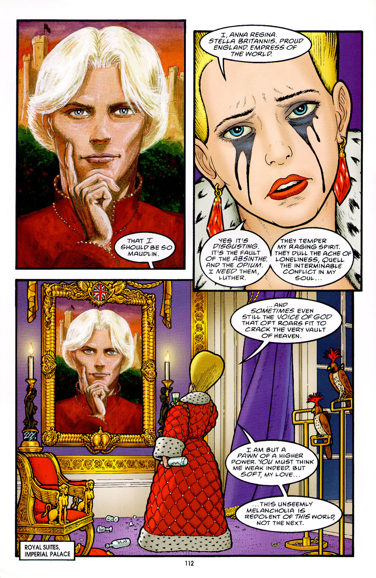 Read online Heart of Empire comic -  Issue #4 - 16