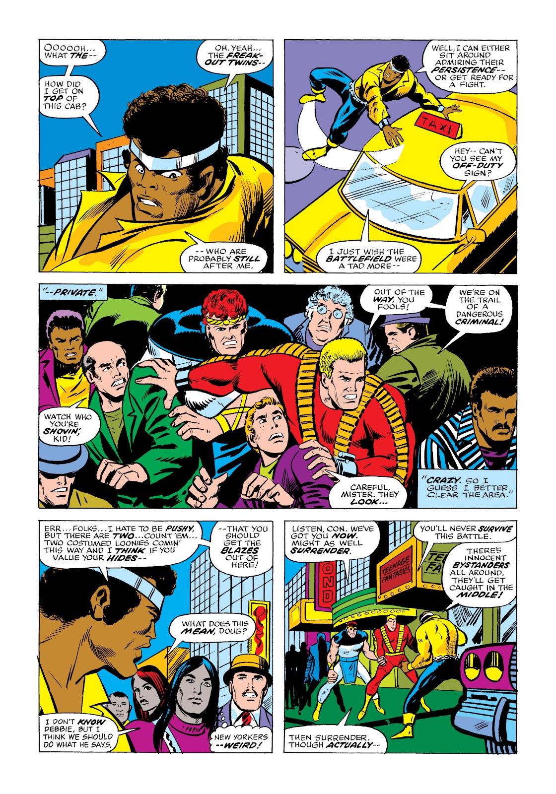 Read online Marvel Masterworks: Luke Cage, Power Man comic -  Issue # TPB 2 (Part 2) - 17