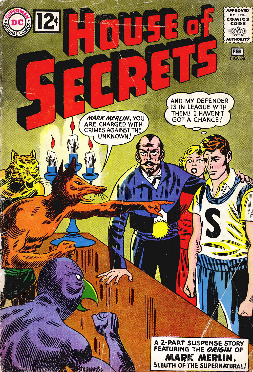 House of Secrets (1956) issue 58 - Page 1