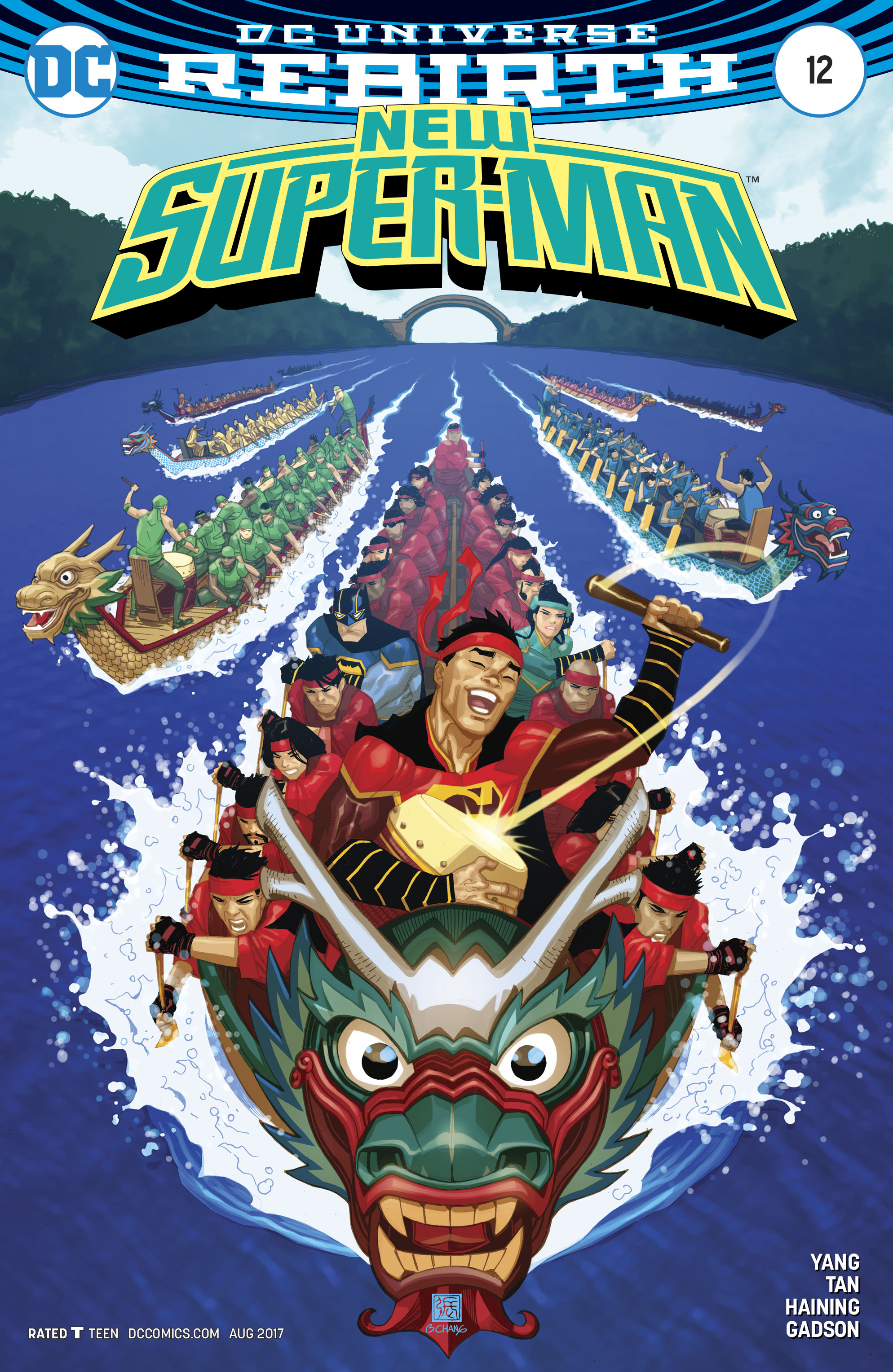 Read online New Super-Man comic -  Issue #12 - 3