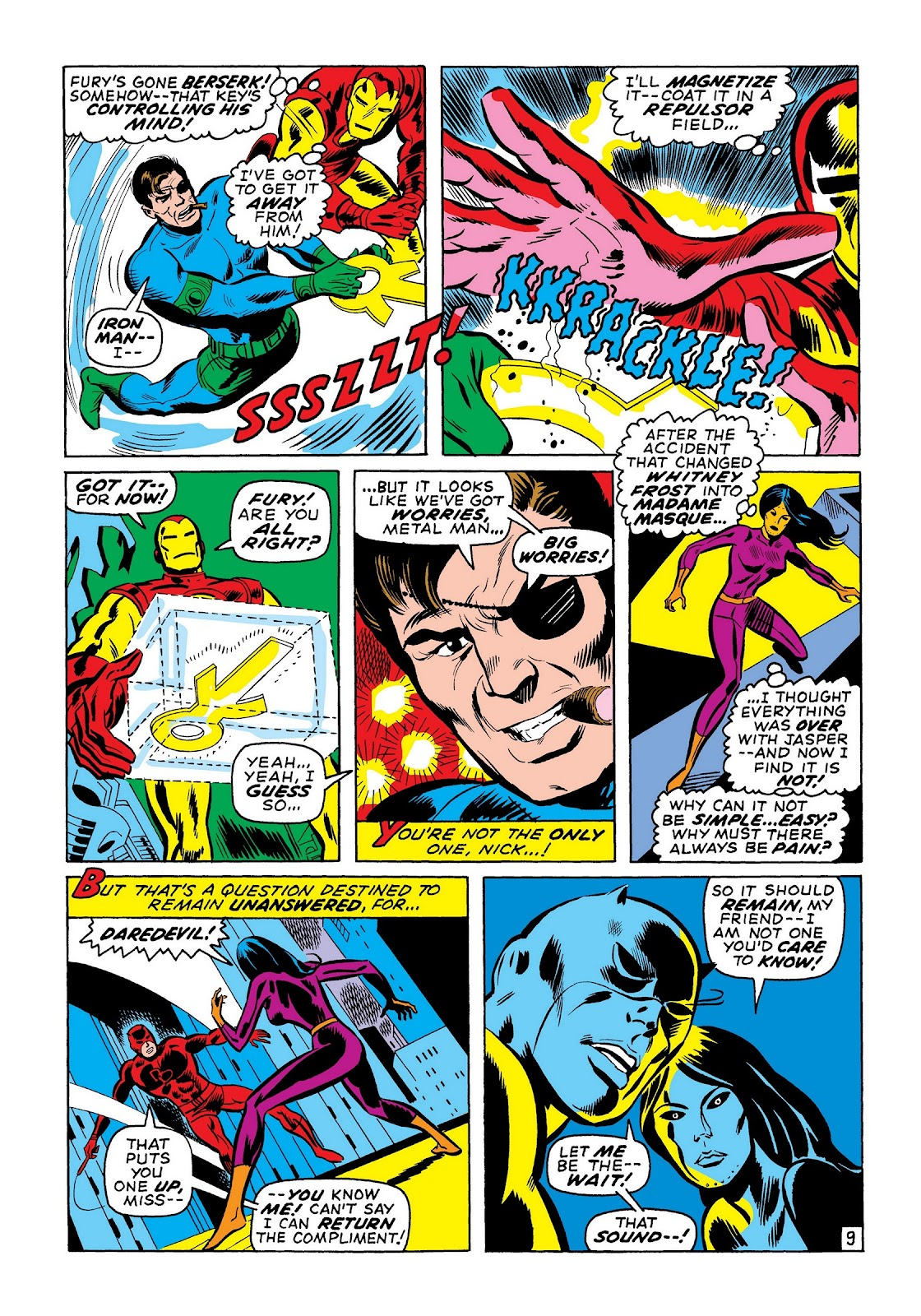 Read online Marvel Masterworks: The Invincible Iron Man comic -  Issue # TPB 7 (Part 2) - 98