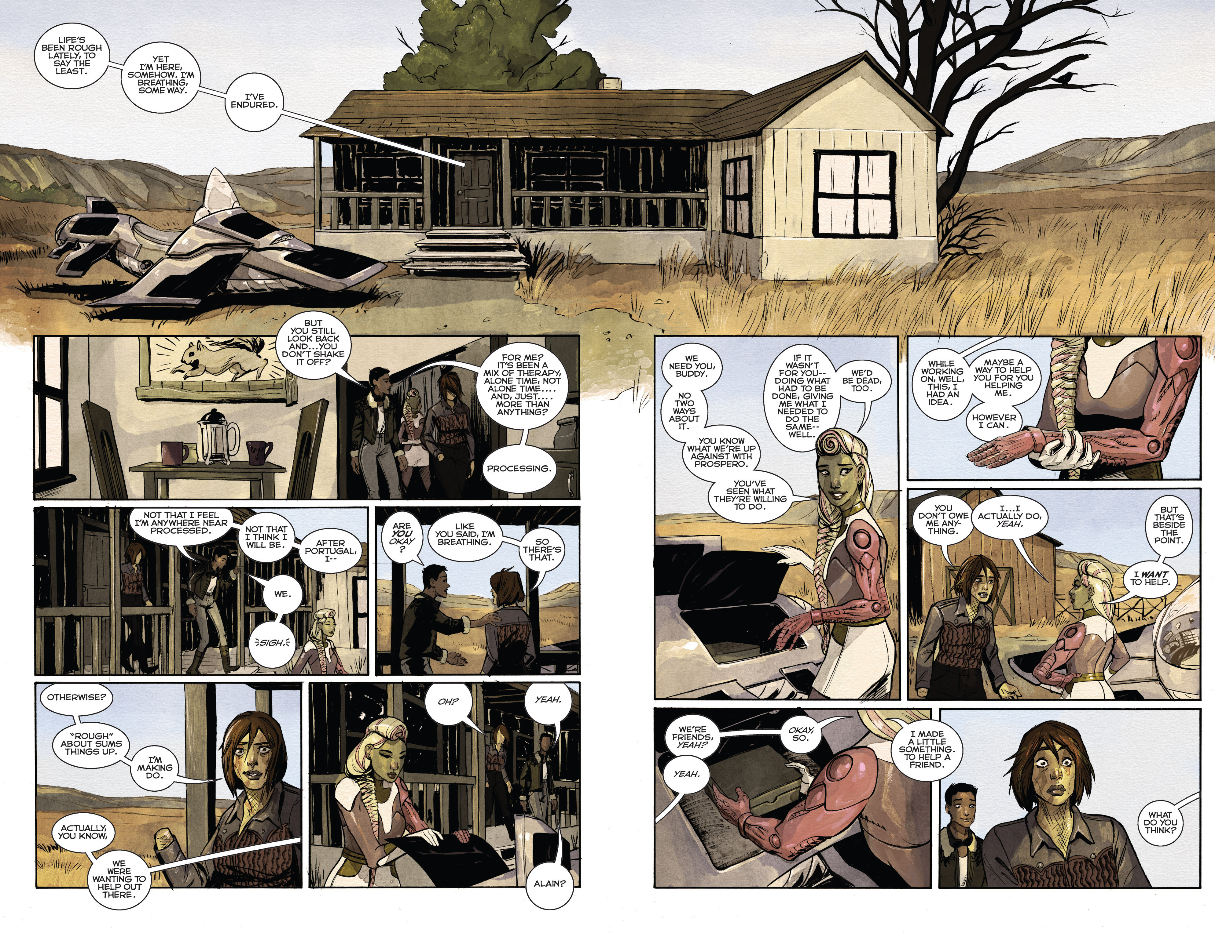 Read online Shutter comic -  Issue #24 - 13
