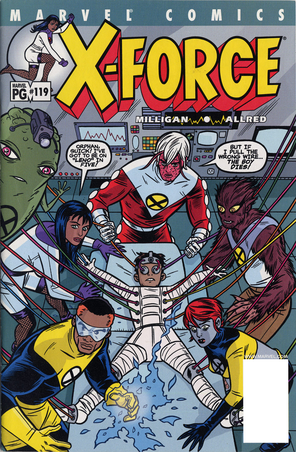 X-Force (1991) 119 Page 1