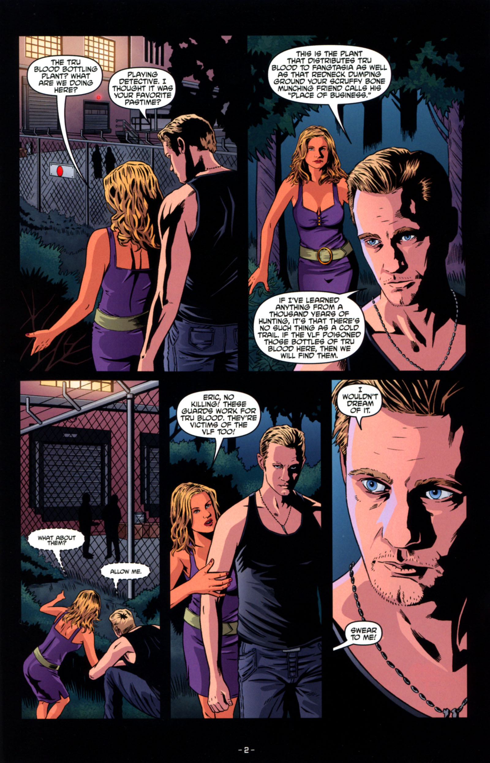 Read online True Blood: Tainted Love comic -  Issue #4 - 4