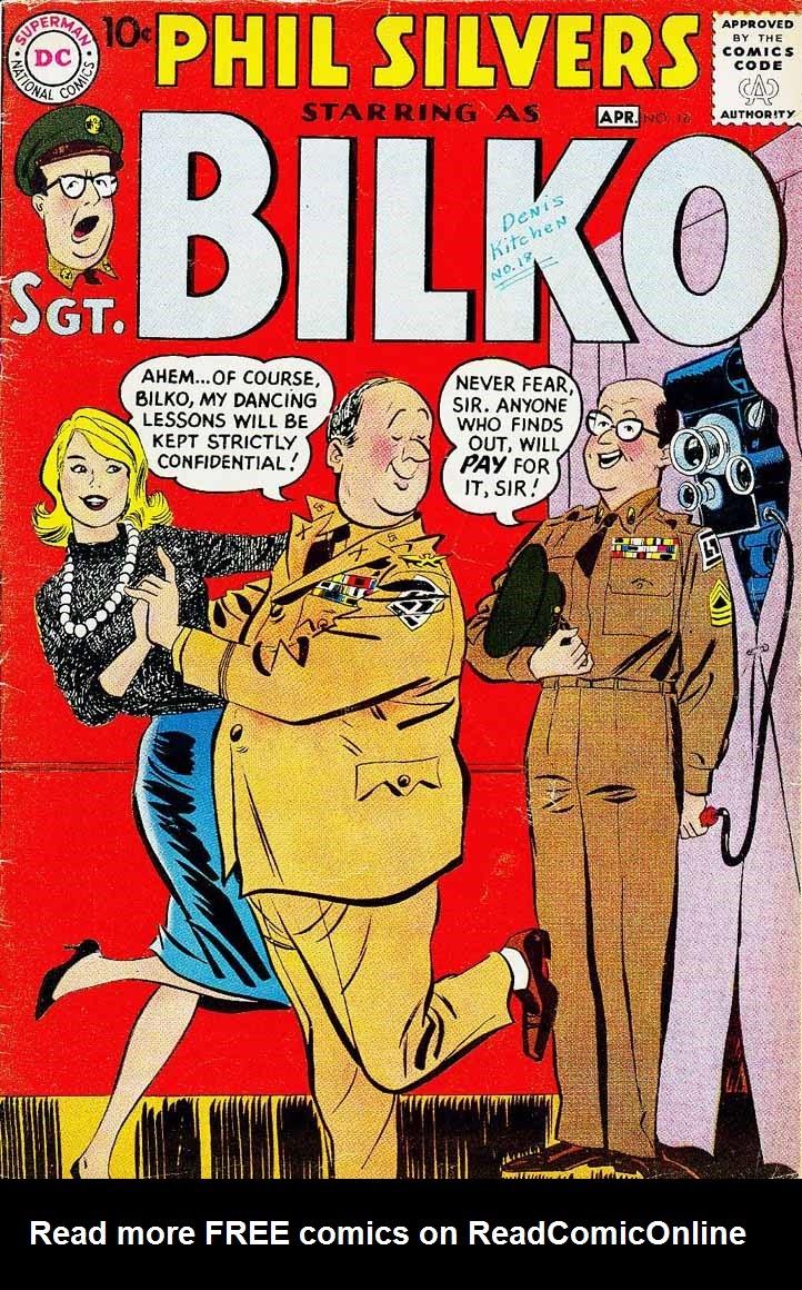 Sergeant Bilko issue 18 - Page 1