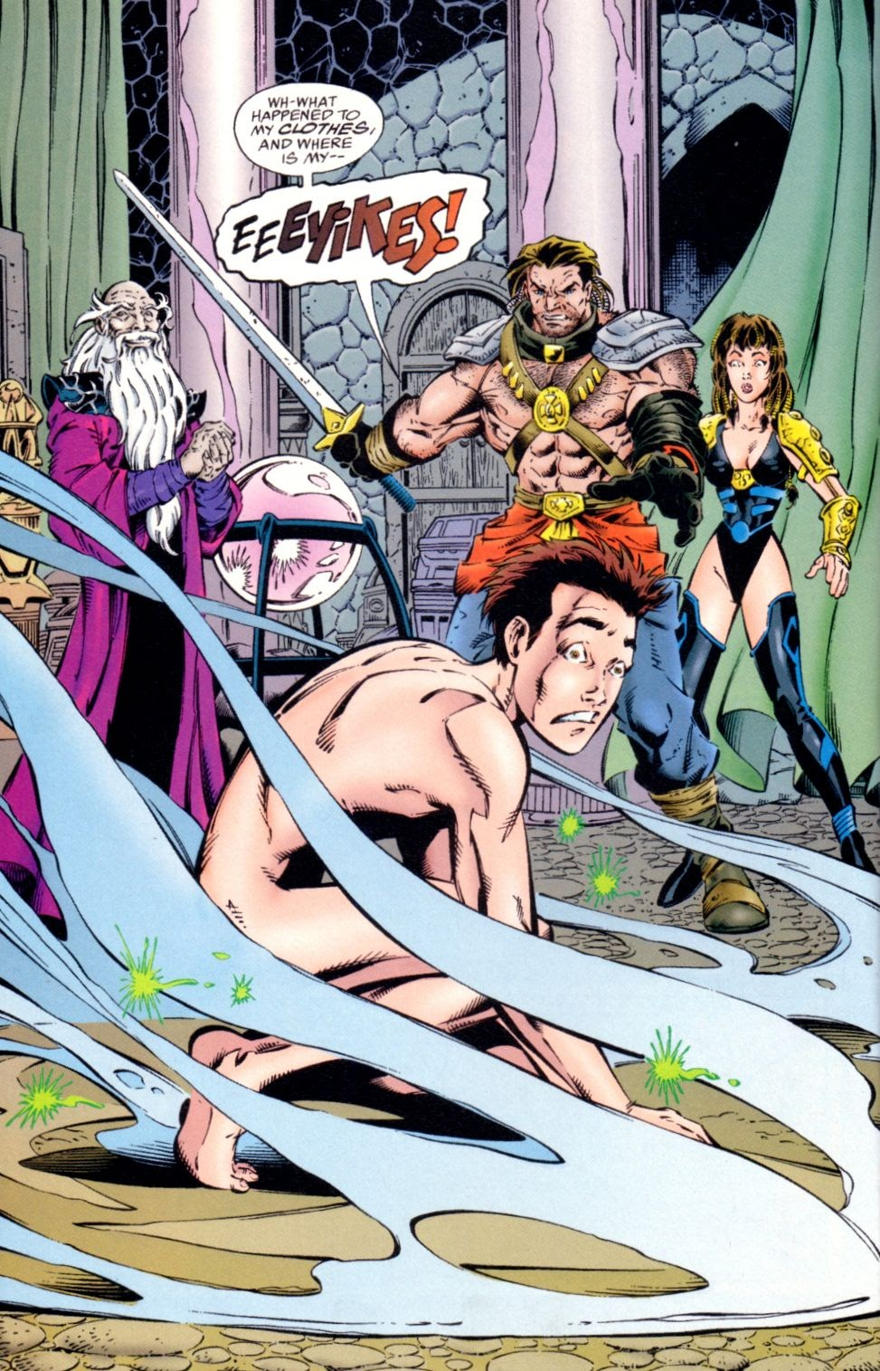 Read online Randy O'Donnell is The M@N comic -  Issue #1 - 12