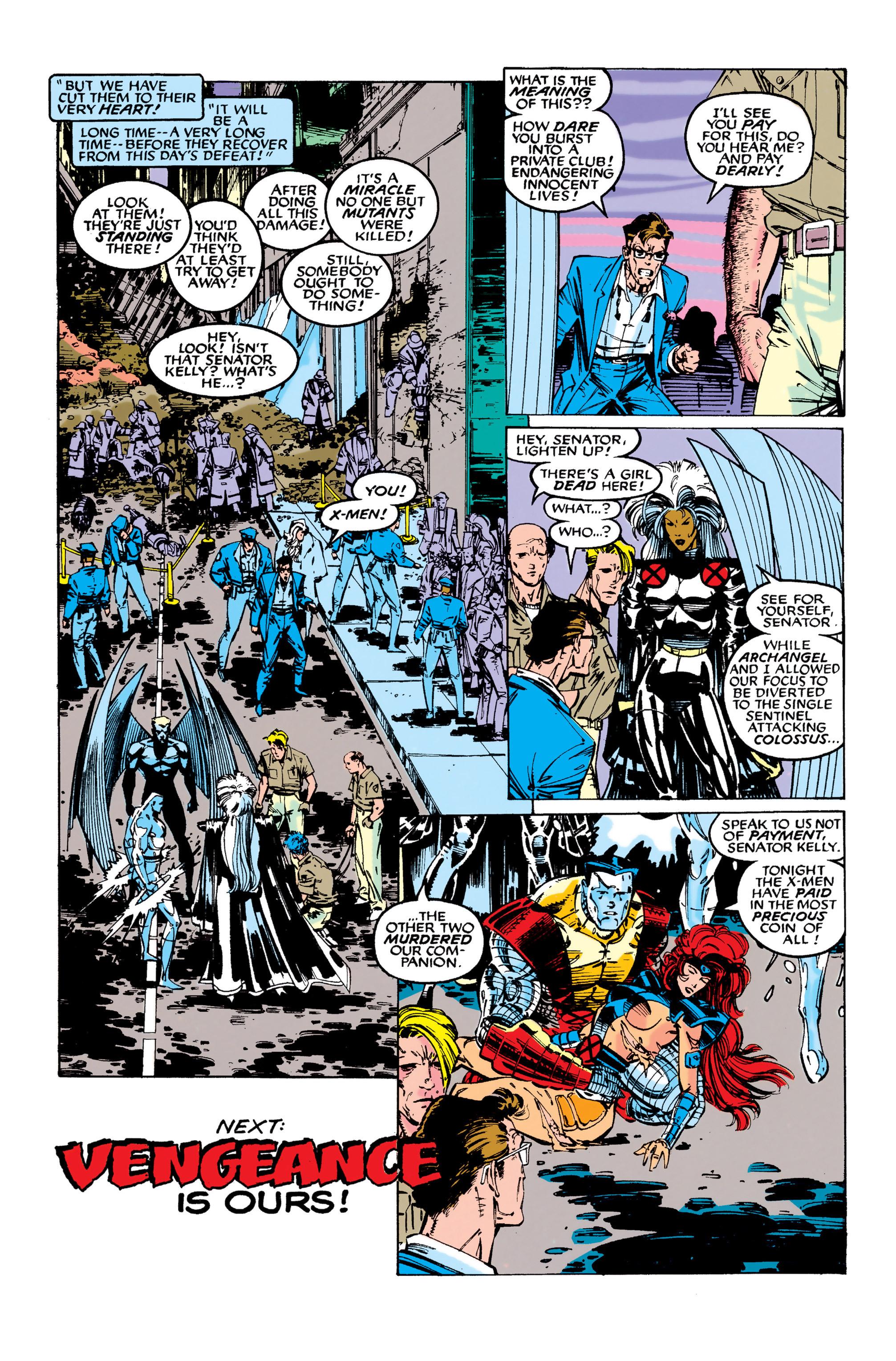 Read online Uncanny X-Men (1963) comic -  Issue #281 - 23